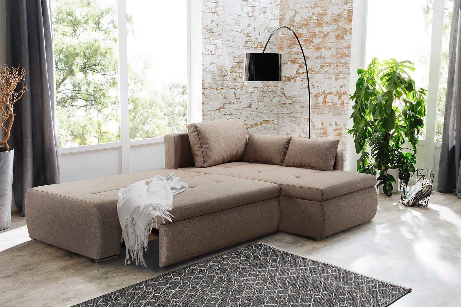 jockenh fer amberg ecksofa braun m bel letz ihr online shop. Black Bedroom Furniture Sets. Home Design Ideas