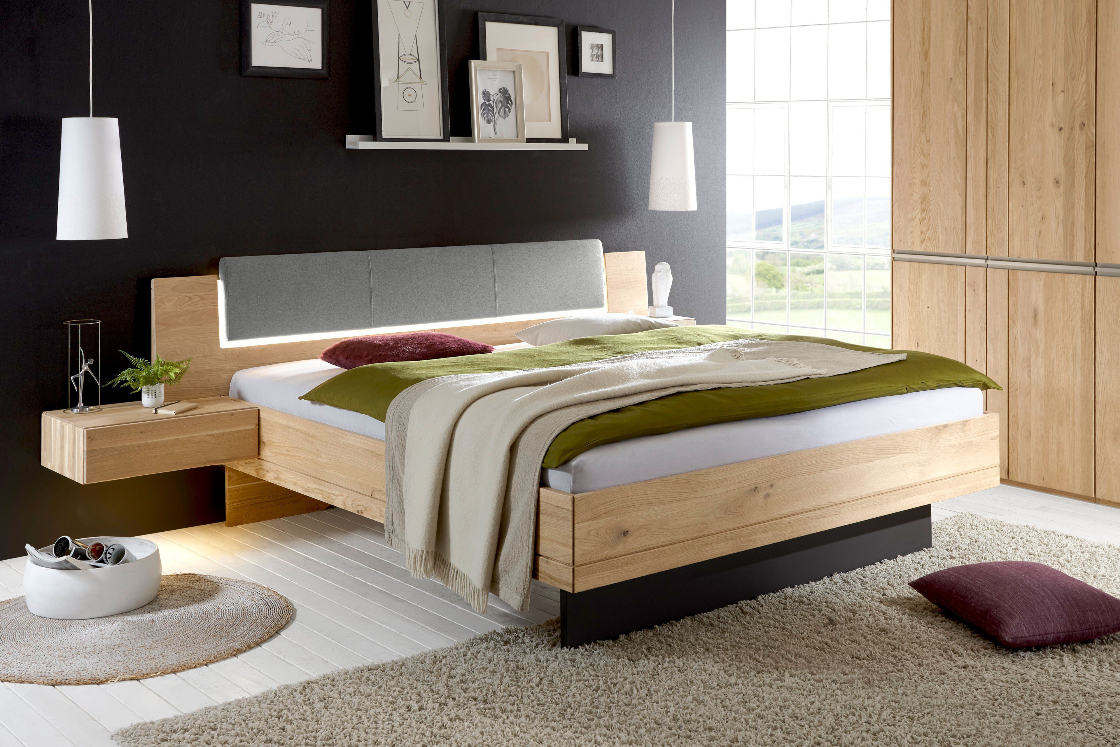 loddenkemper leno massivholz bettanlage m bel letz ihr online shop. Black Bedroom Furniture Sets. Home Design Ideas