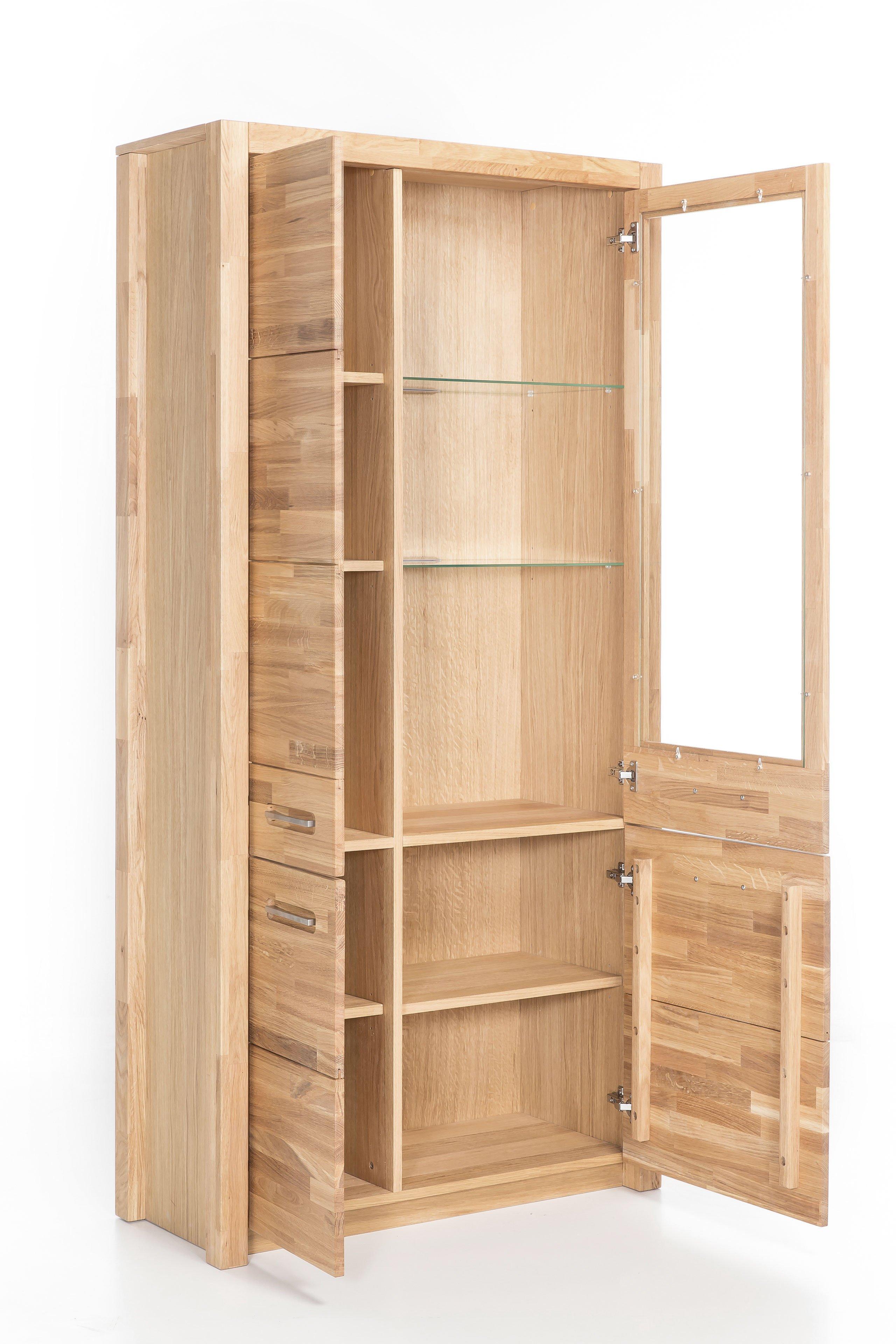 mca vitrine fenja in wildeiche m bel letz ihr online shop. Black Bedroom Furniture Sets. Home Design Ideas