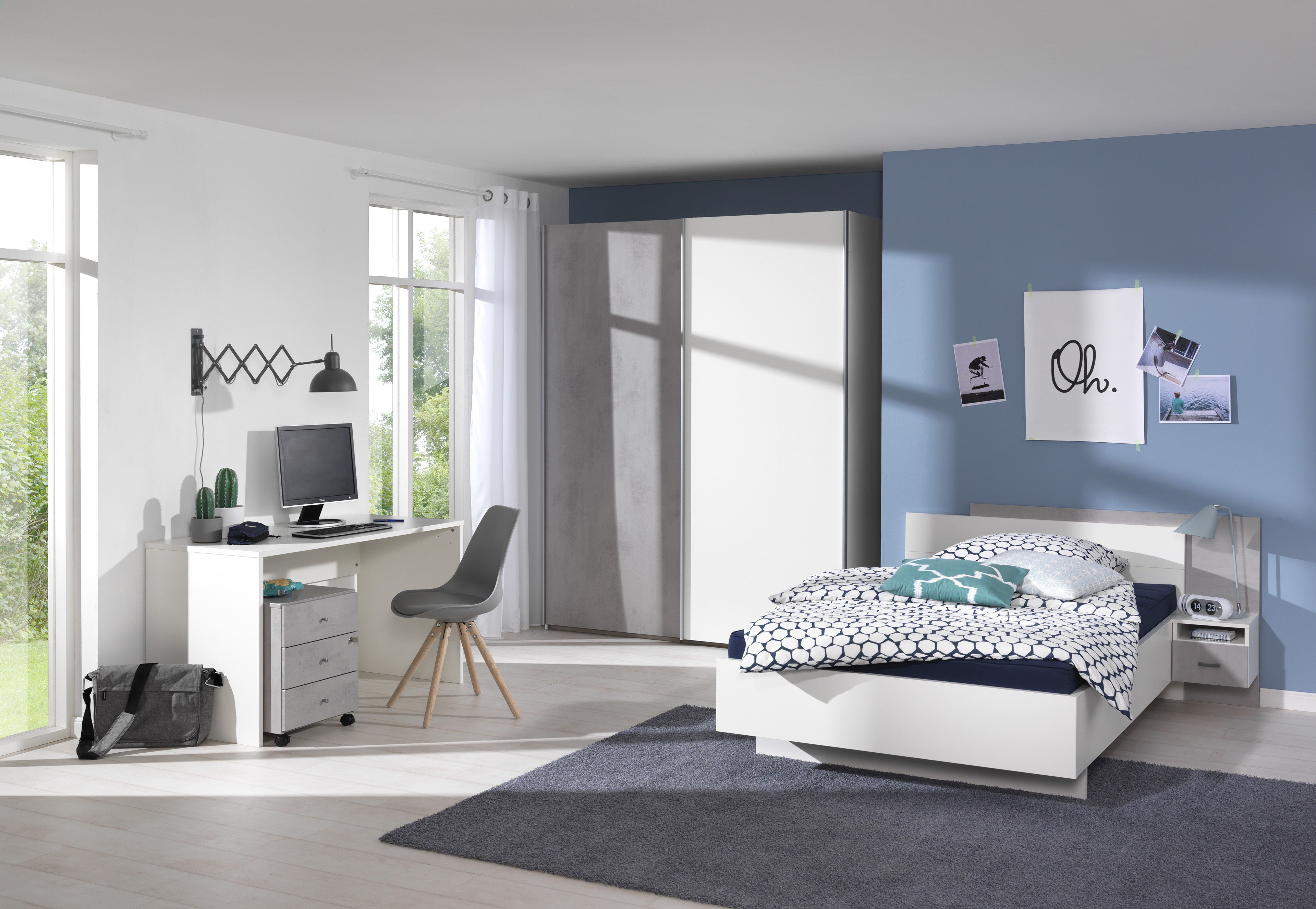 welle concrete jugendzimmer beton optik m bel letz ihr online shop. Black Bedroom Furniture Sets. Home Design Ideas