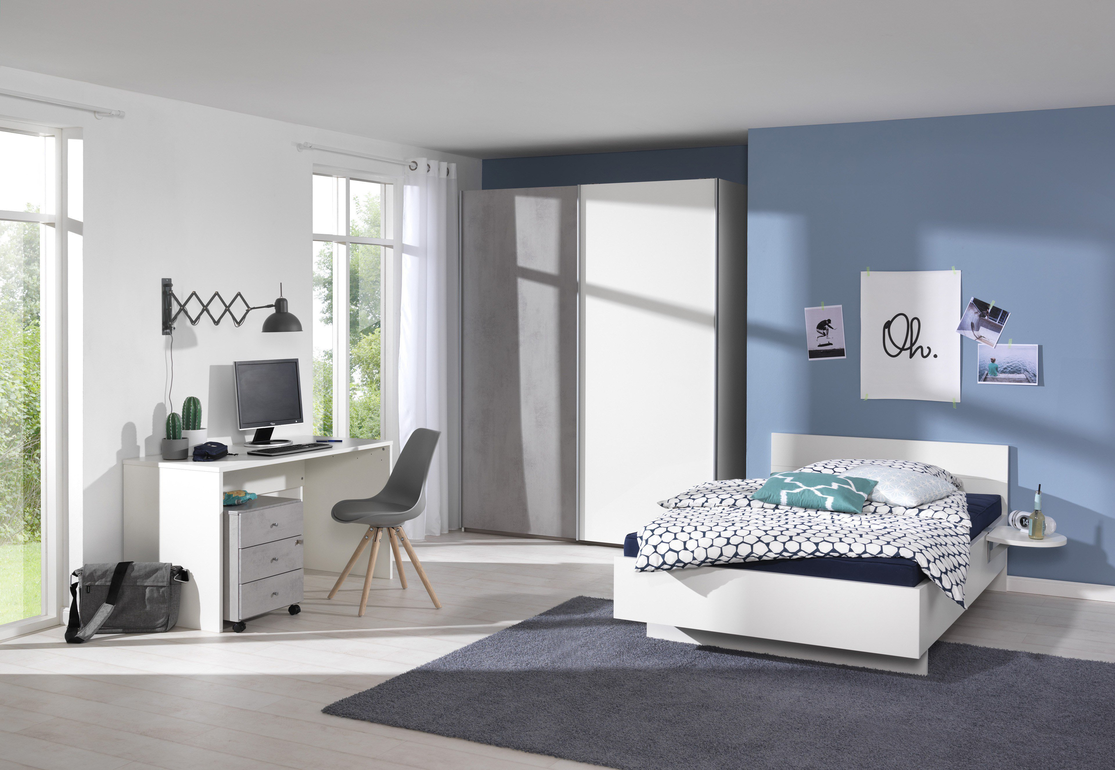 wellem bel concrete jugendm bel beton optik m bel letz ihr online shop. Black Bedroom Furniture Sets. Home Design Ideas