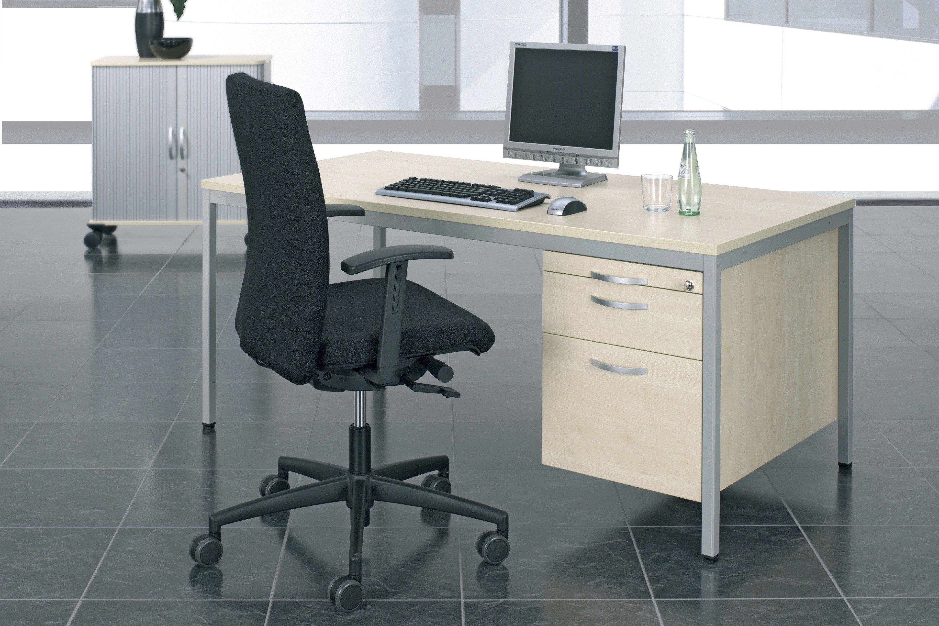 geramöbel 4 Fuß Eco »Schreibtisch« | Möbel Letz - Ihr Online-Shop