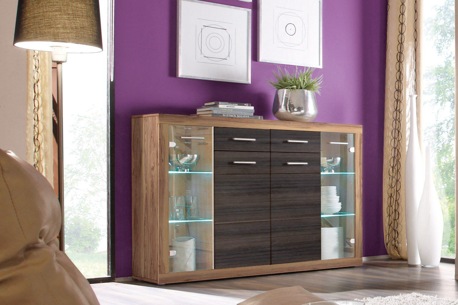 hbz meble von highboard can can 5 lisetta m bel letz ihr online shop. Black Bedroom Furniture Sets. Home Design Ideas