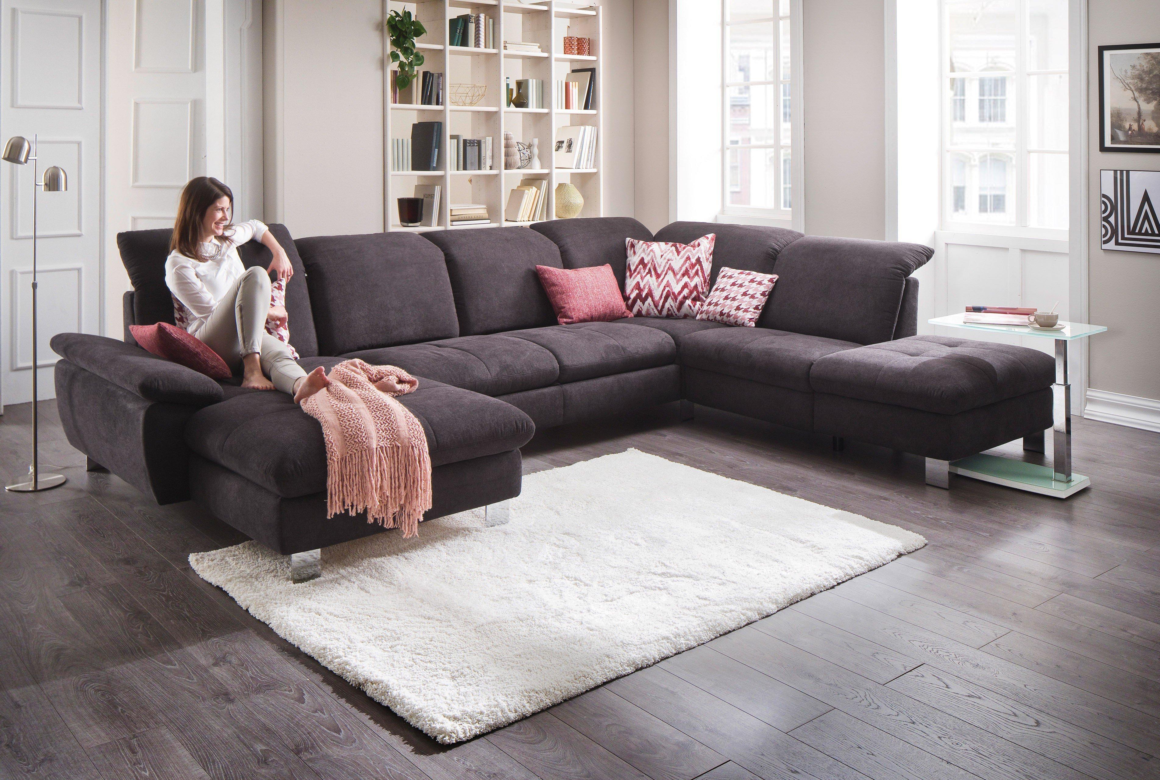 poco toronto wohnlandschaft schwarz m bel letz ihr. Black Bedroom Furniture Sets. Home Design Ideas