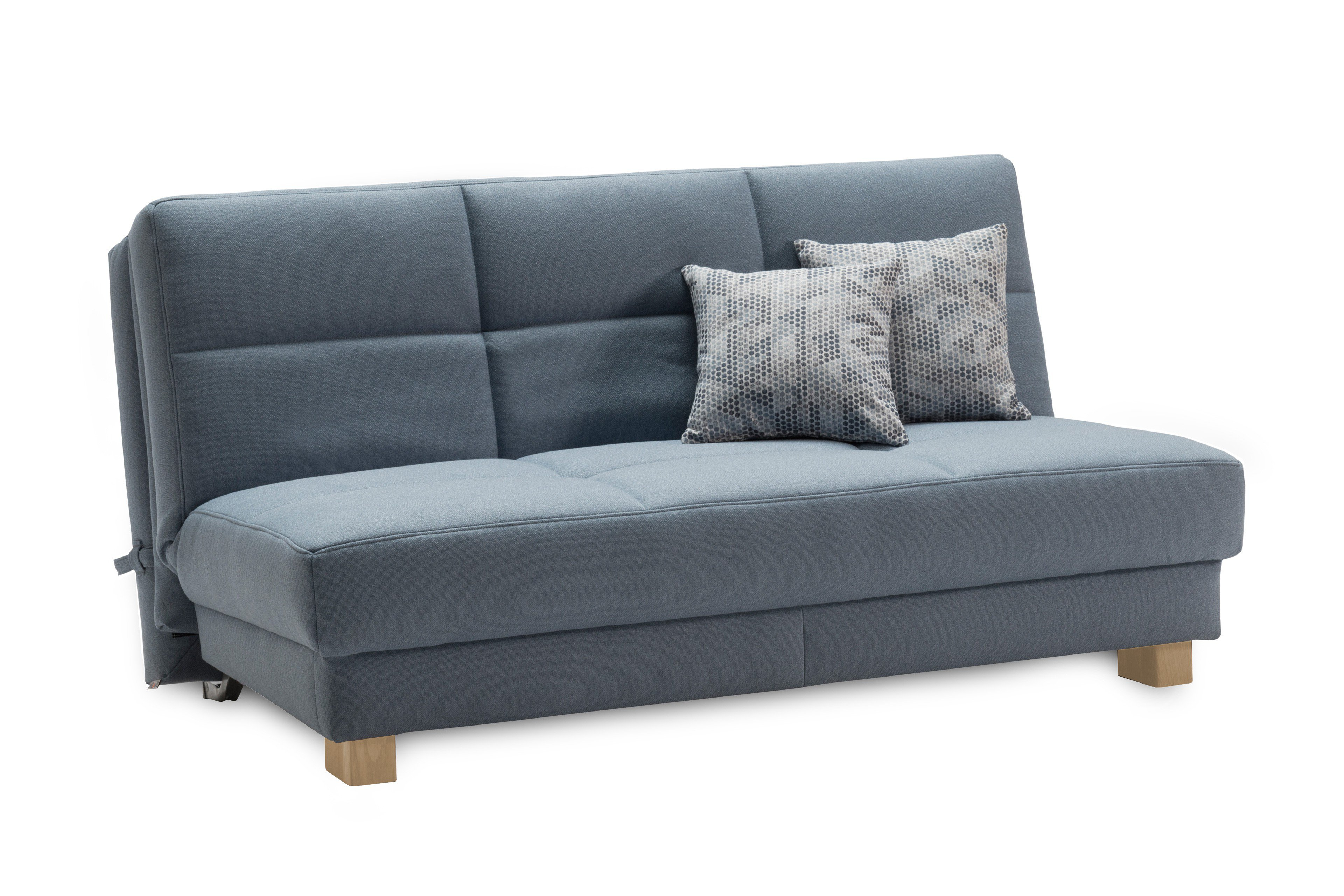 ell ell tilda schlafsofa hellblau mit 2 zierkissen m bel letz ihr online shop. Black Bedroom Furniture Sets. Home Design Ideas
