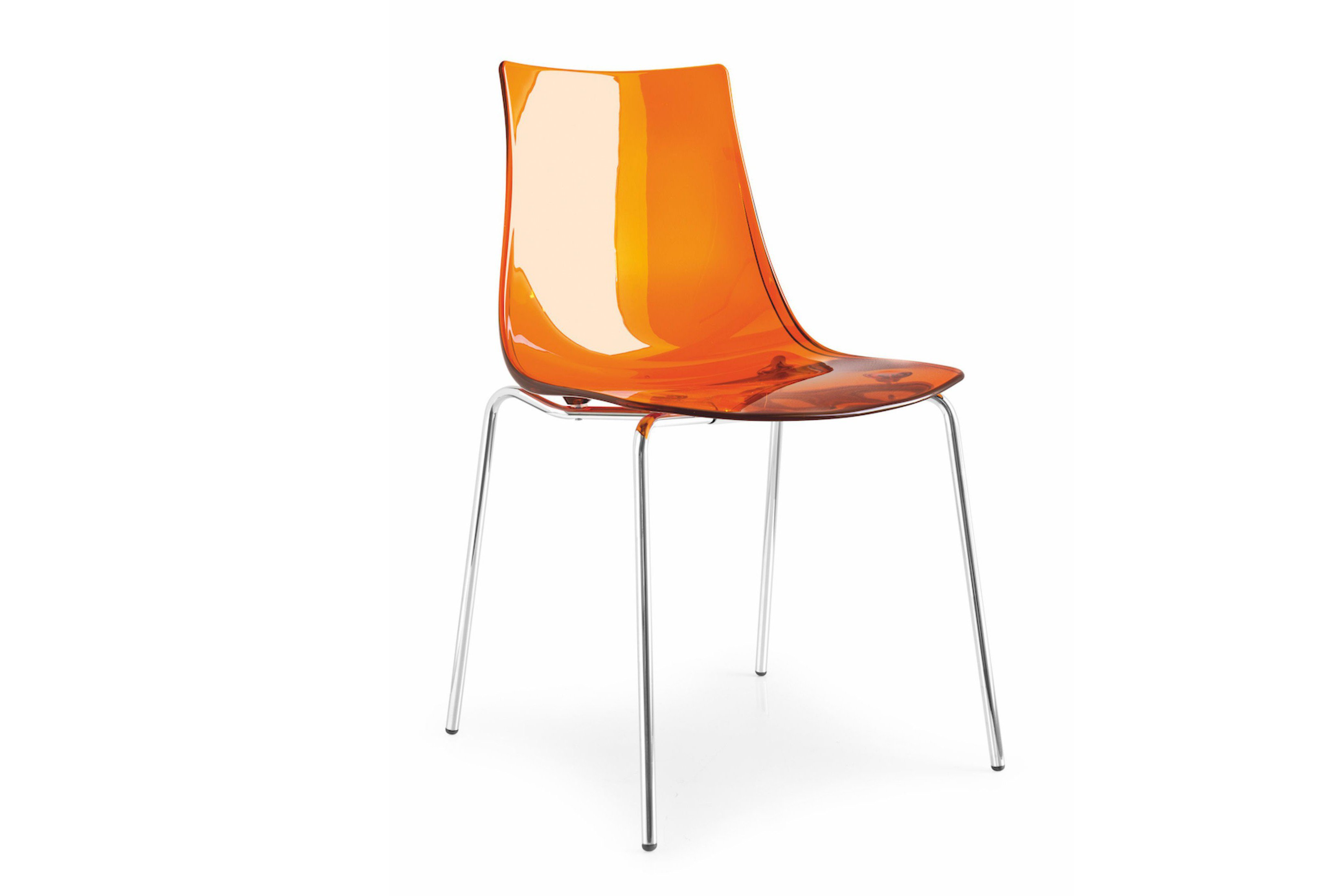 connubia by calligaris stuhl led orange m bel letz ihr online shop. Black Bedroom Furniture Sets. Home Design Ideas