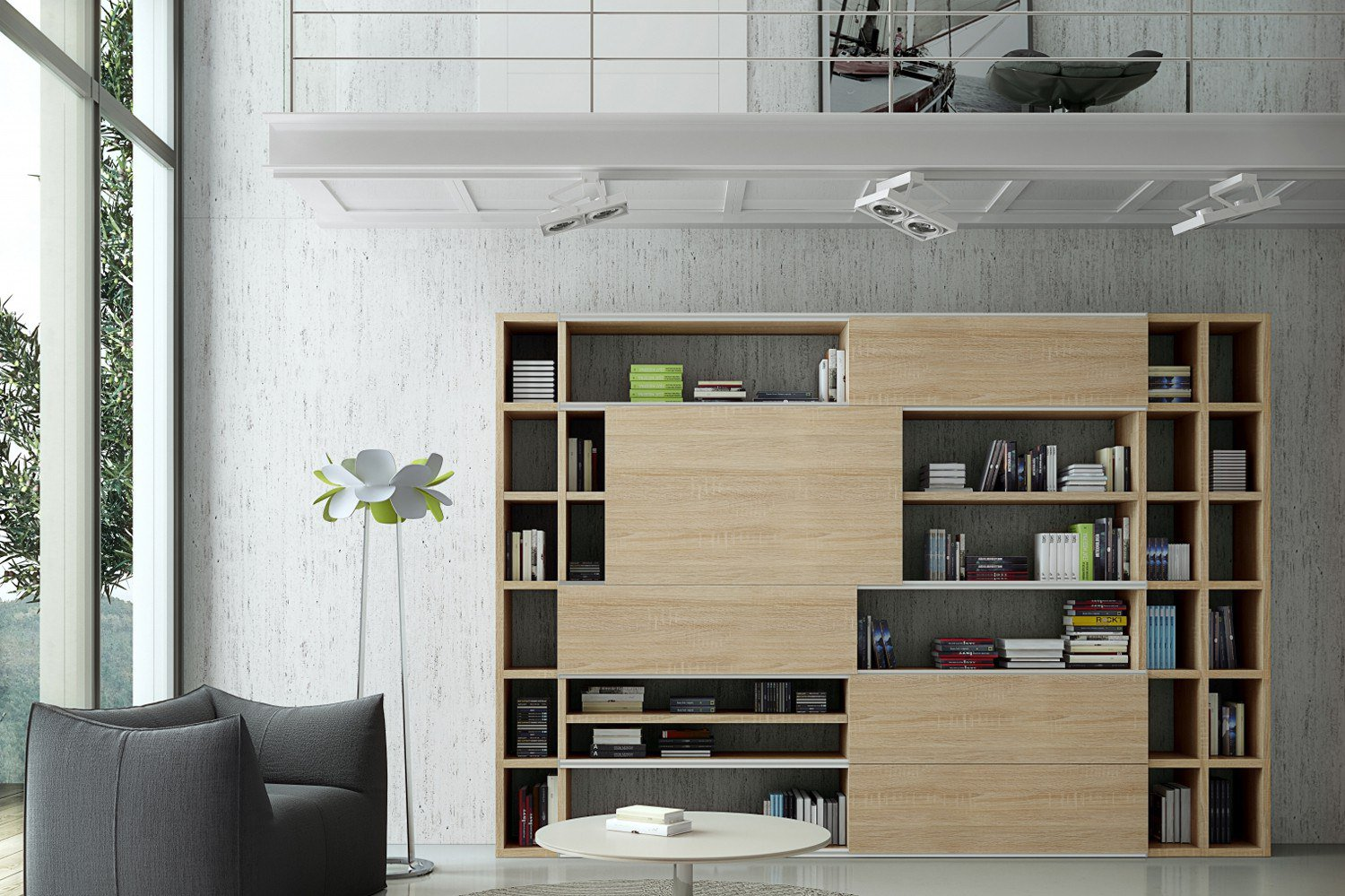 fif m bel regal toro tor117 in eiche m bel letz ihr online shop. Black Bedroom Furniture Sets. Home Design Ideas
