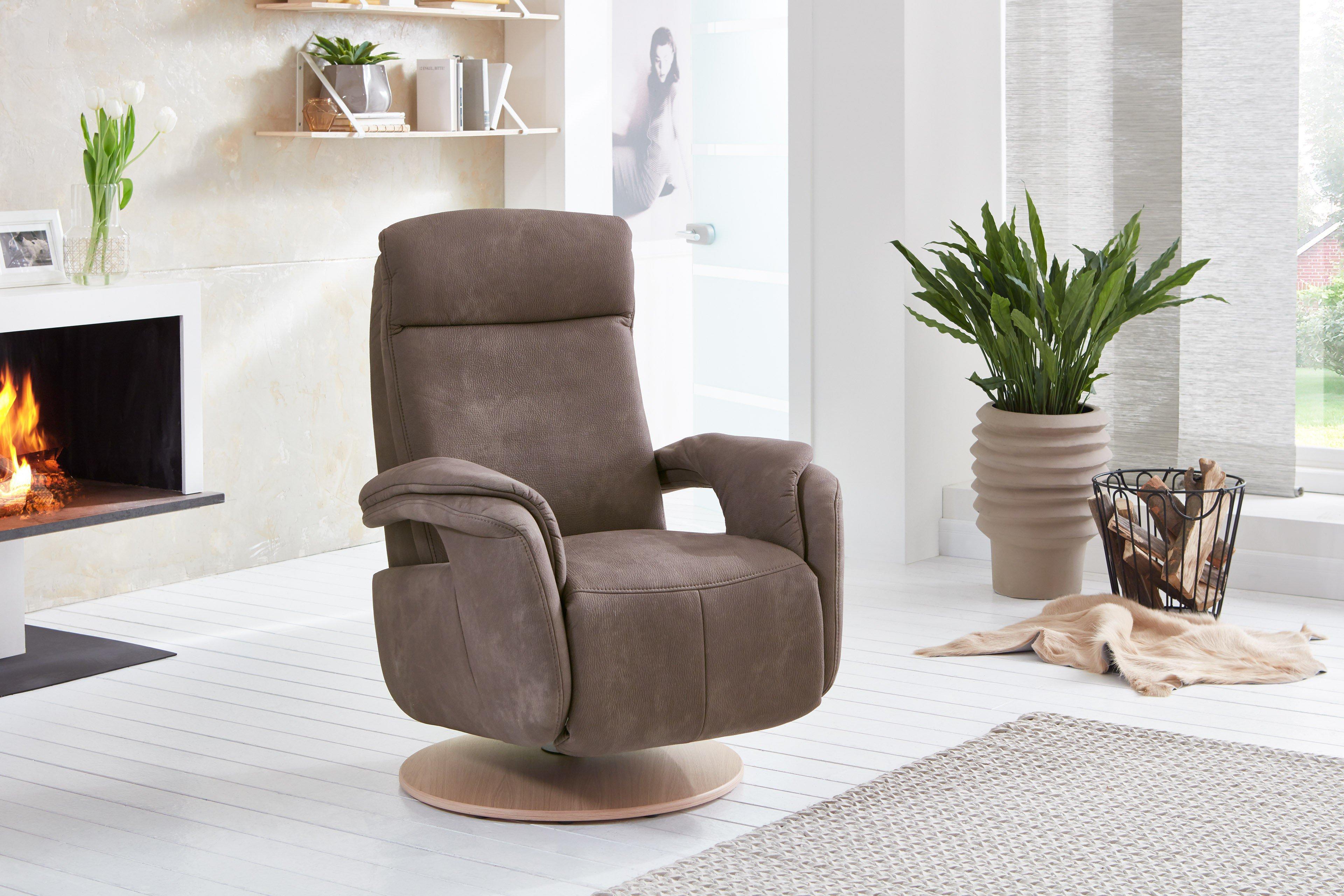 Zehdenick Intro-S Relaxsessel in Braun | Möbel Letz - Ihr Online-Shop