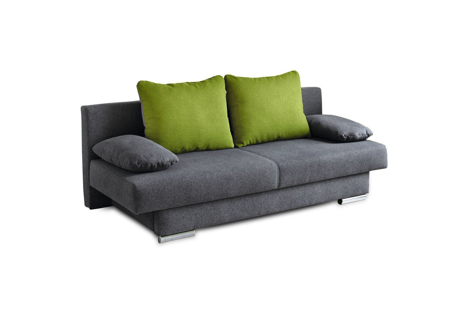 jockenh fer griffin angel schlafsofa in grau gr n m bel letz ihr online shop. Black Bedroom Furniture Sets. Home Design Ideas