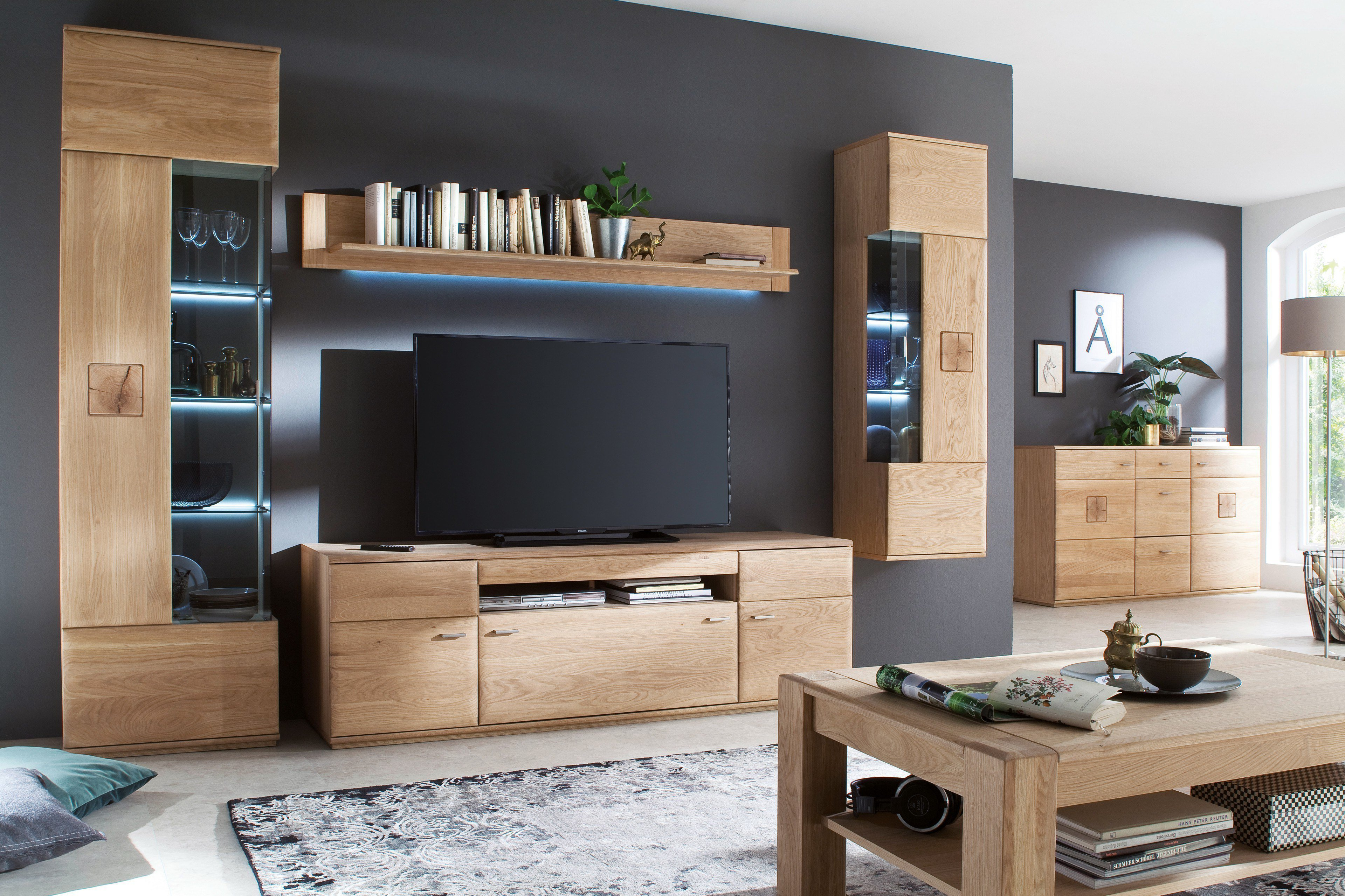 stunning wohnwand gute qualit t photos. Black Bedroom Furniture Sets. Home Design Ideas