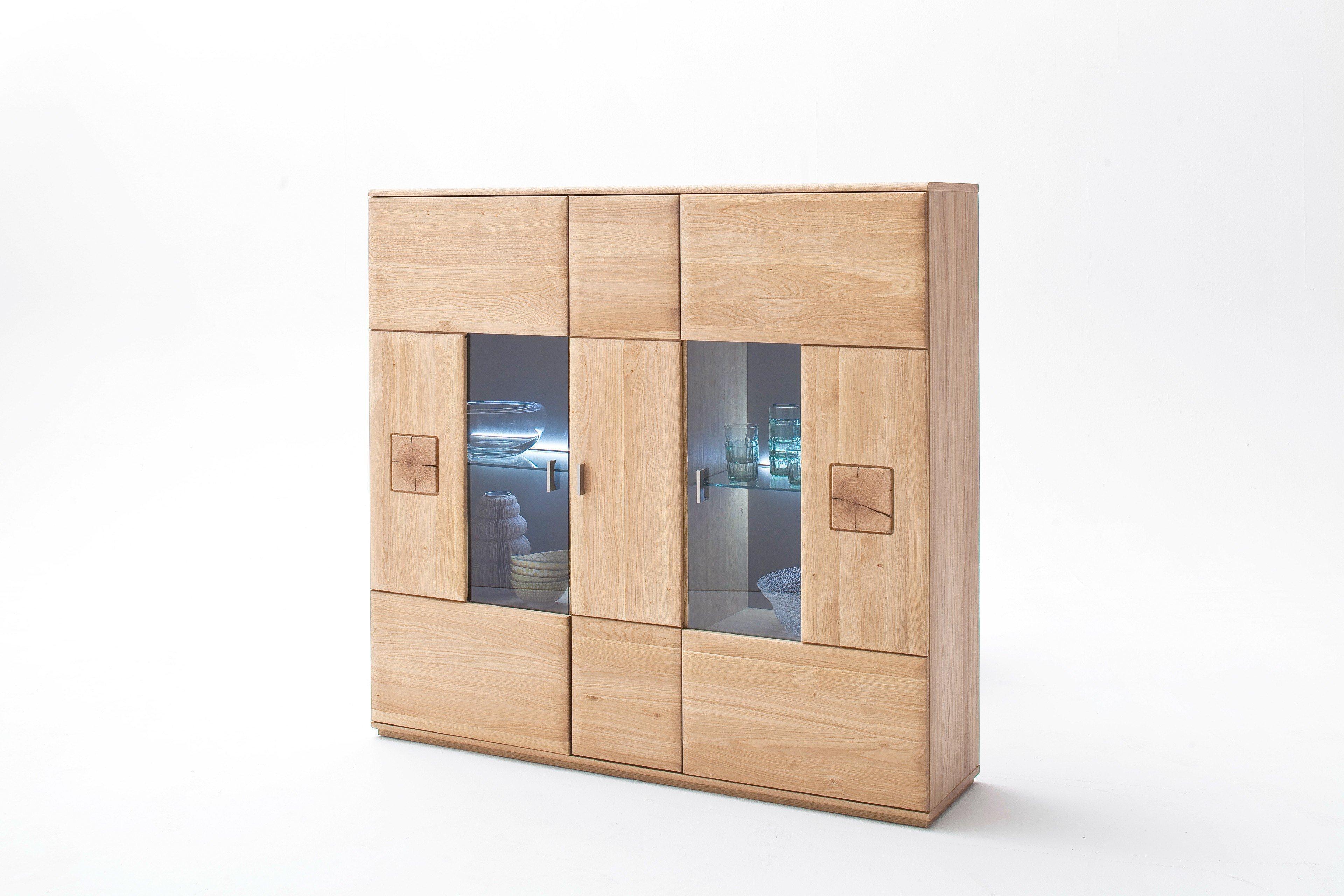 mca bologna highboard in eiche bianco m bel letz ihr online shop. Black Bedroom Furniture Sets. Home Design Ideas