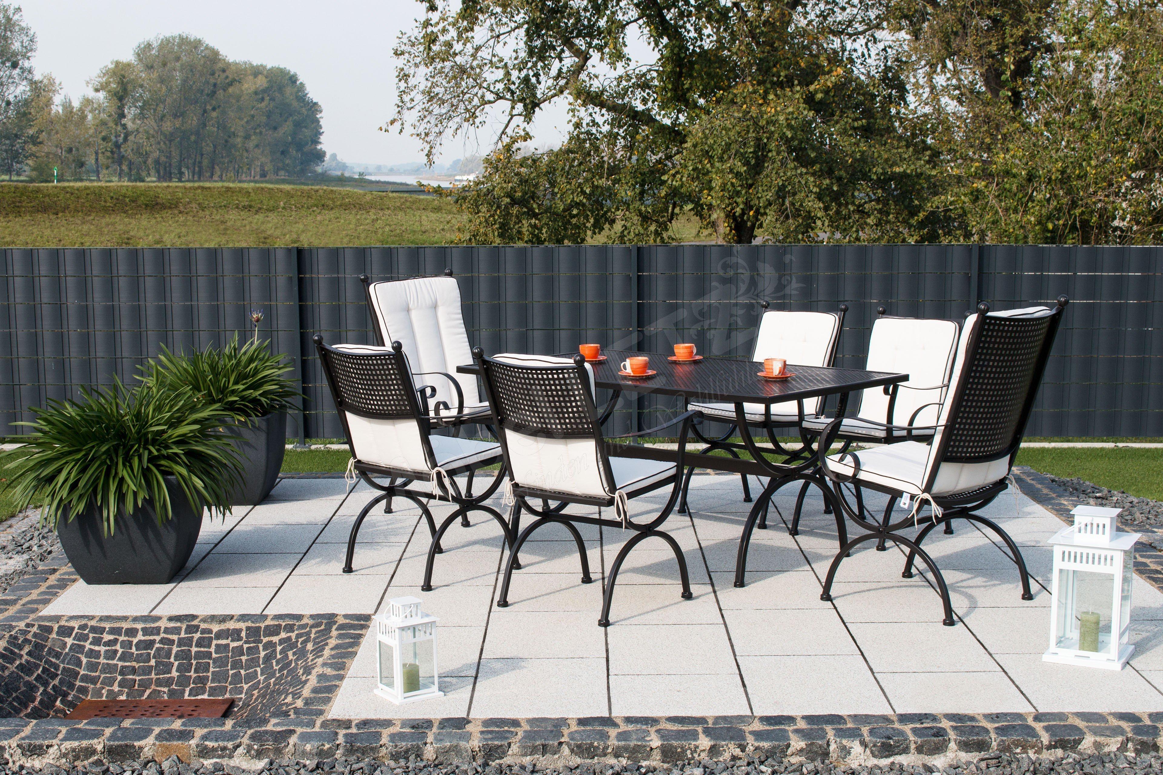 Mbm Tisch Romeo 156 135 Eisen Schwarz Mobel Letz Ihr Online Shop