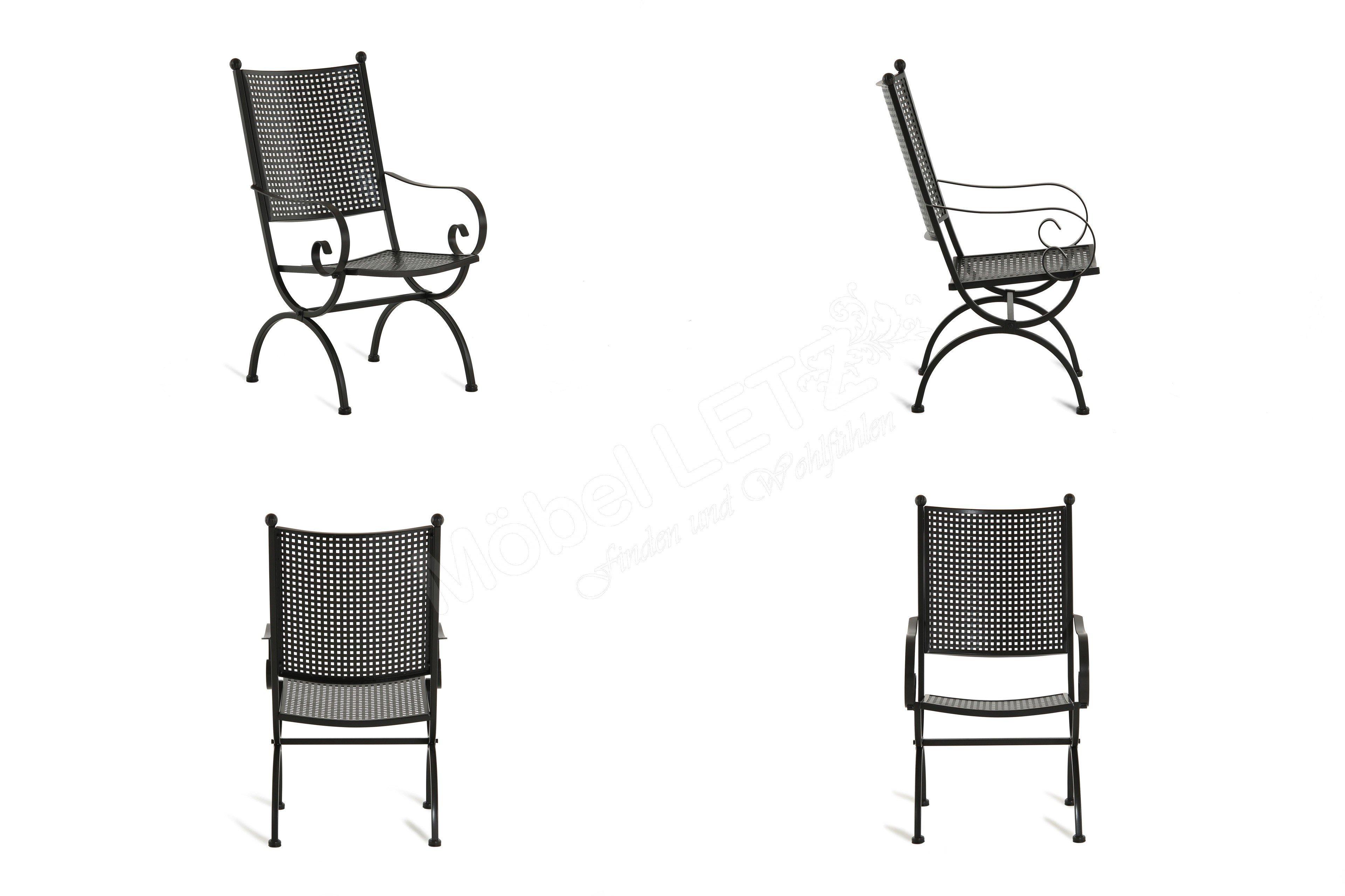 MBM Tisch Romeo 156.135 Eisen schwarz | Möbel Letz - Ihr Online-Shop
