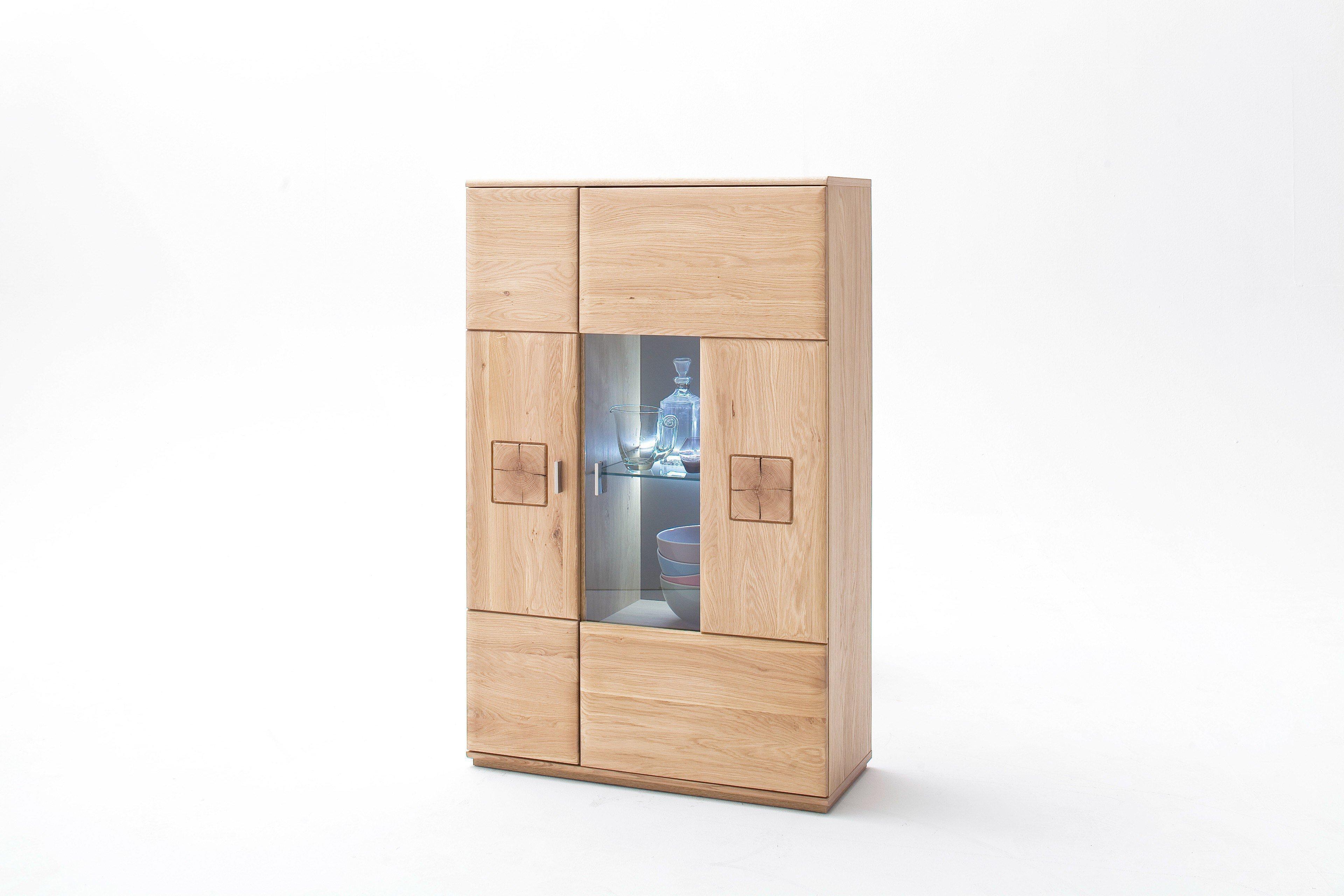 mca bologna highboard in eiche m bel letz ihr online shop. Black Bedroom Furniture Sets. Home Design Ideas