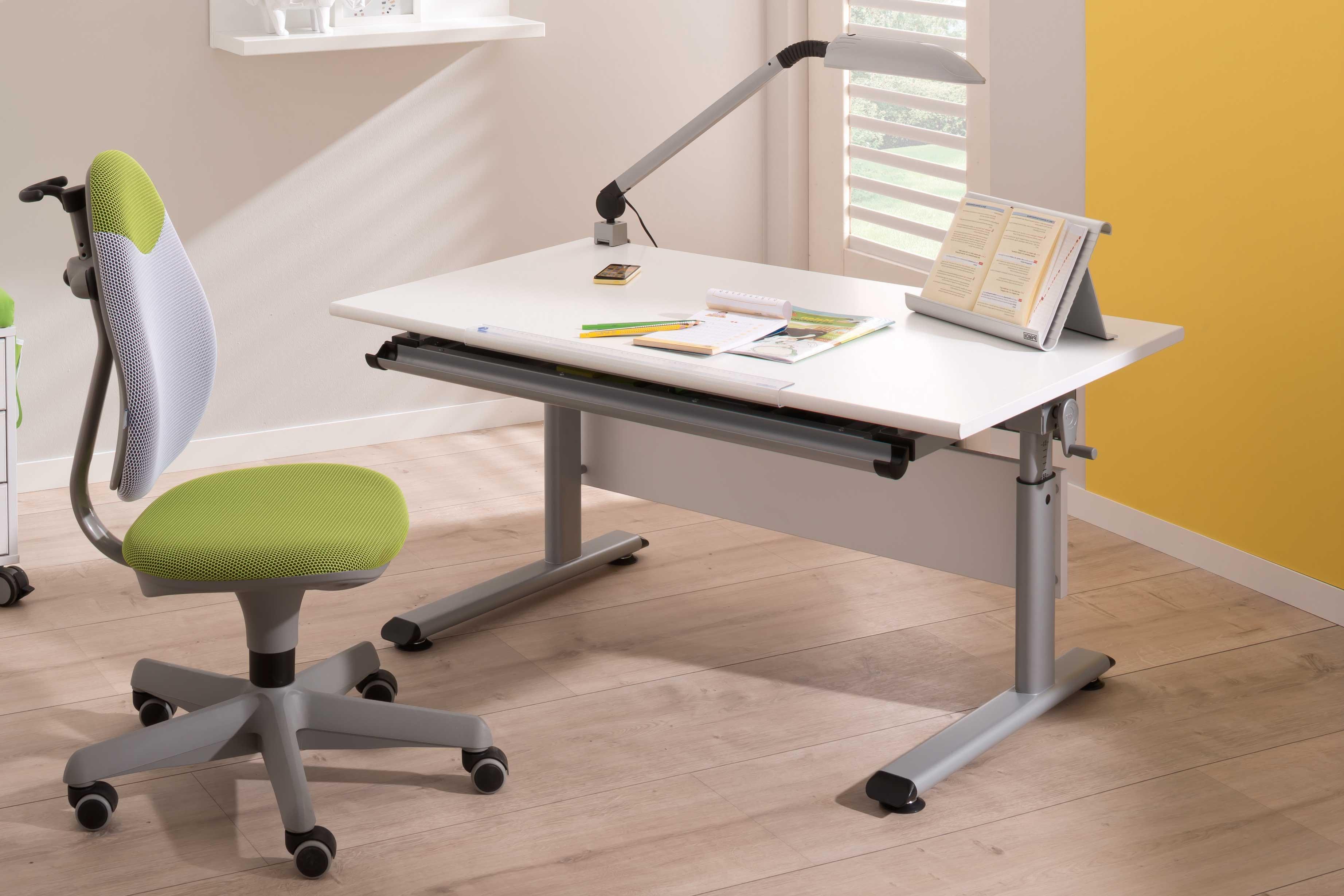 paidi marco 2 105 kinderschreibtisch mit h henverstellung. Black Bedroom Furniture Sets. Home Design Ideas