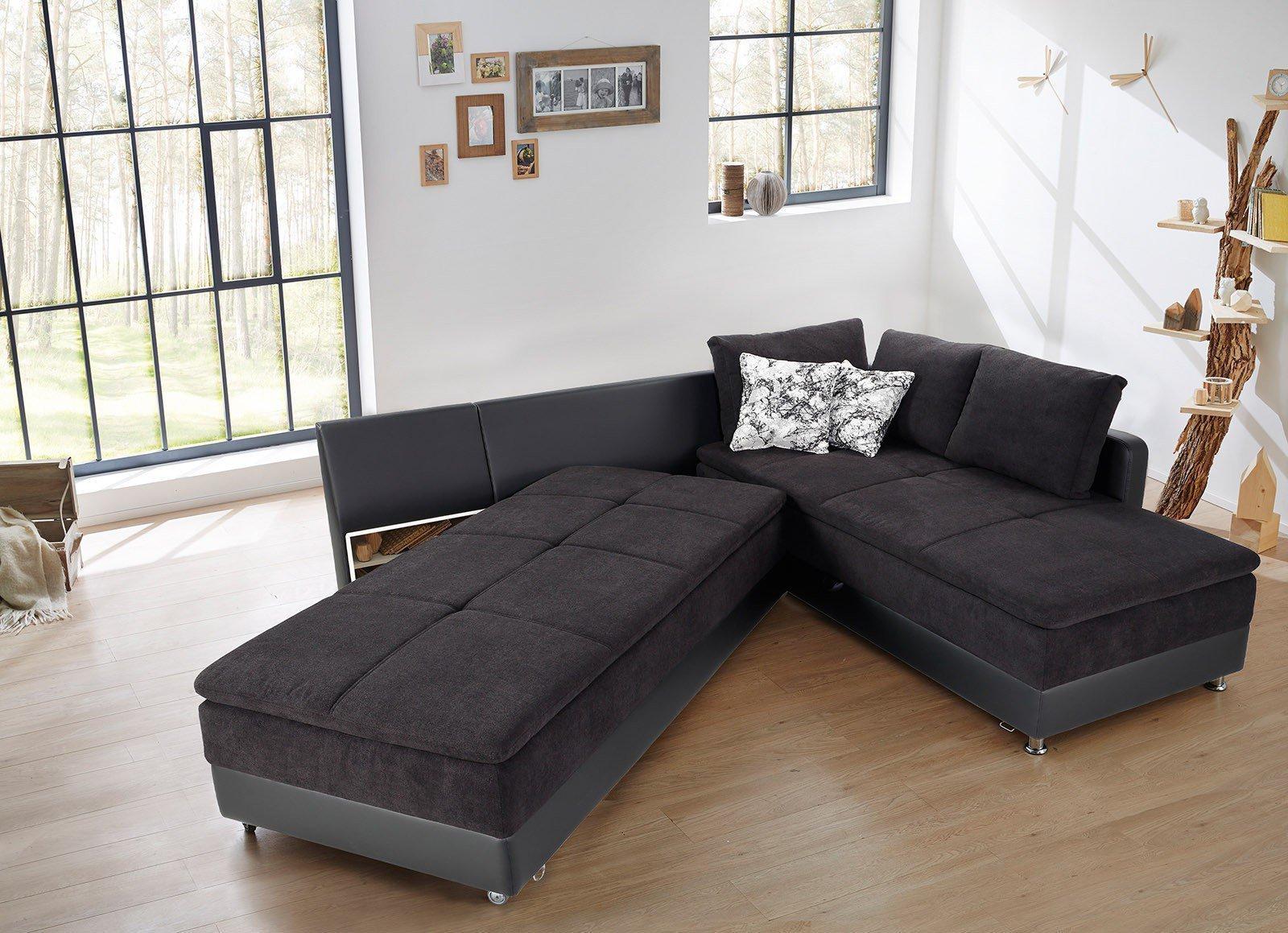 kollektion letz susanne polsterecke schwarz m bel letz ihr online shop. Black Bedroom Furniture Sets. Home Design Ideas