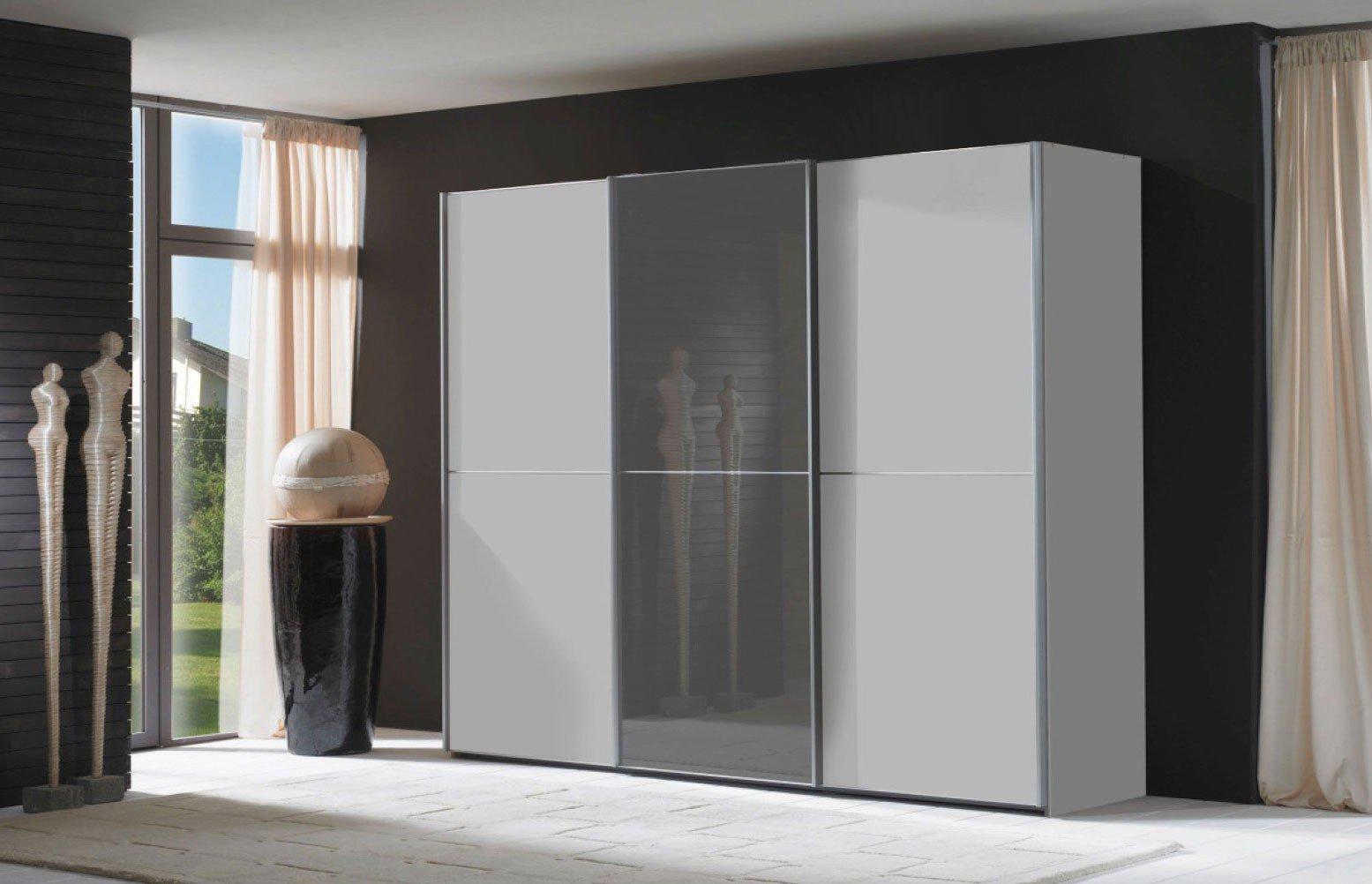 Wiemann Miami Schrank weiß grau | Möbel Letz - Ihr Online-Shop