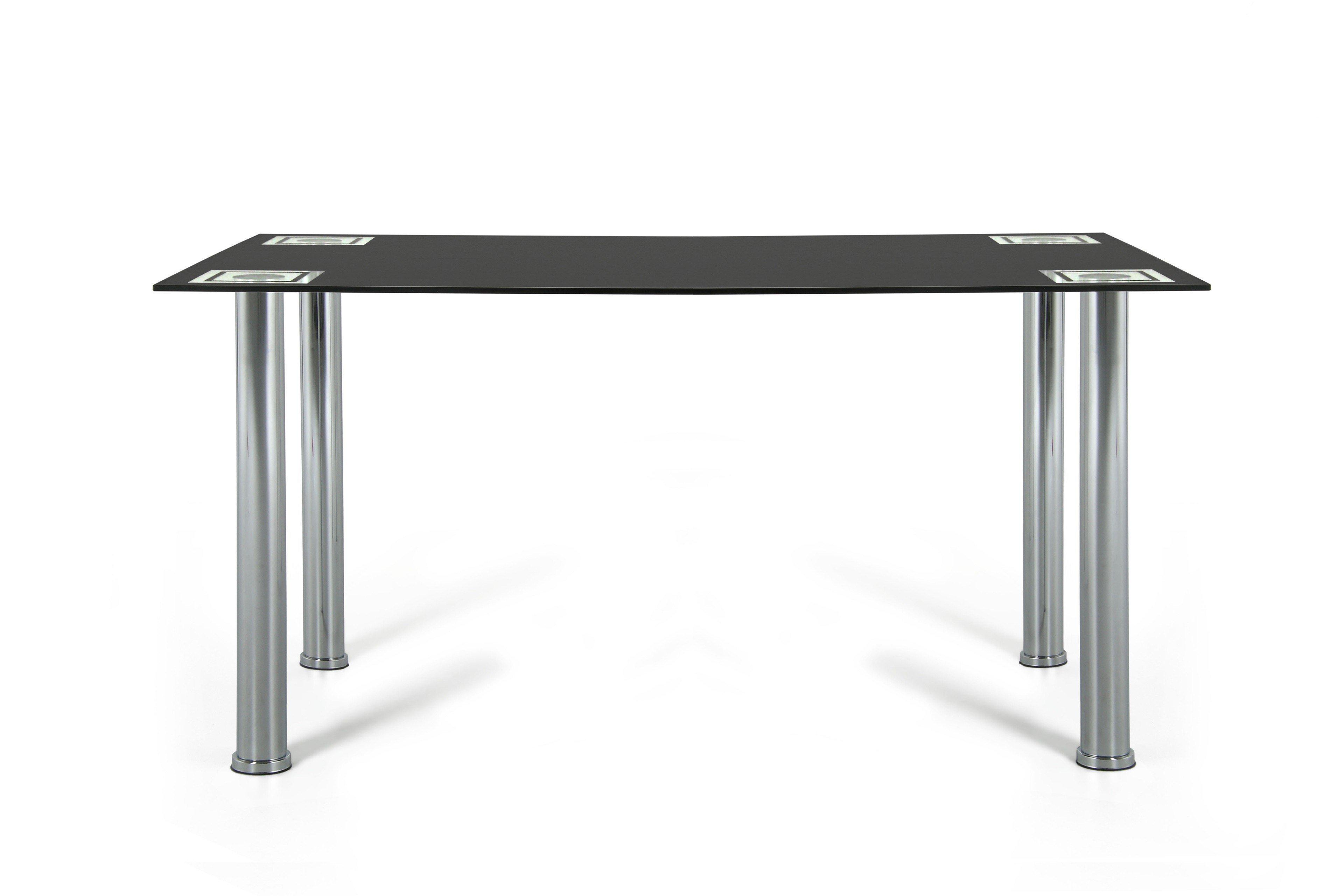 kollektion letz esstisch anny glas metall m bel letz ihr online shop. Black Bedroom Furniture Sets. Home Design Ideas