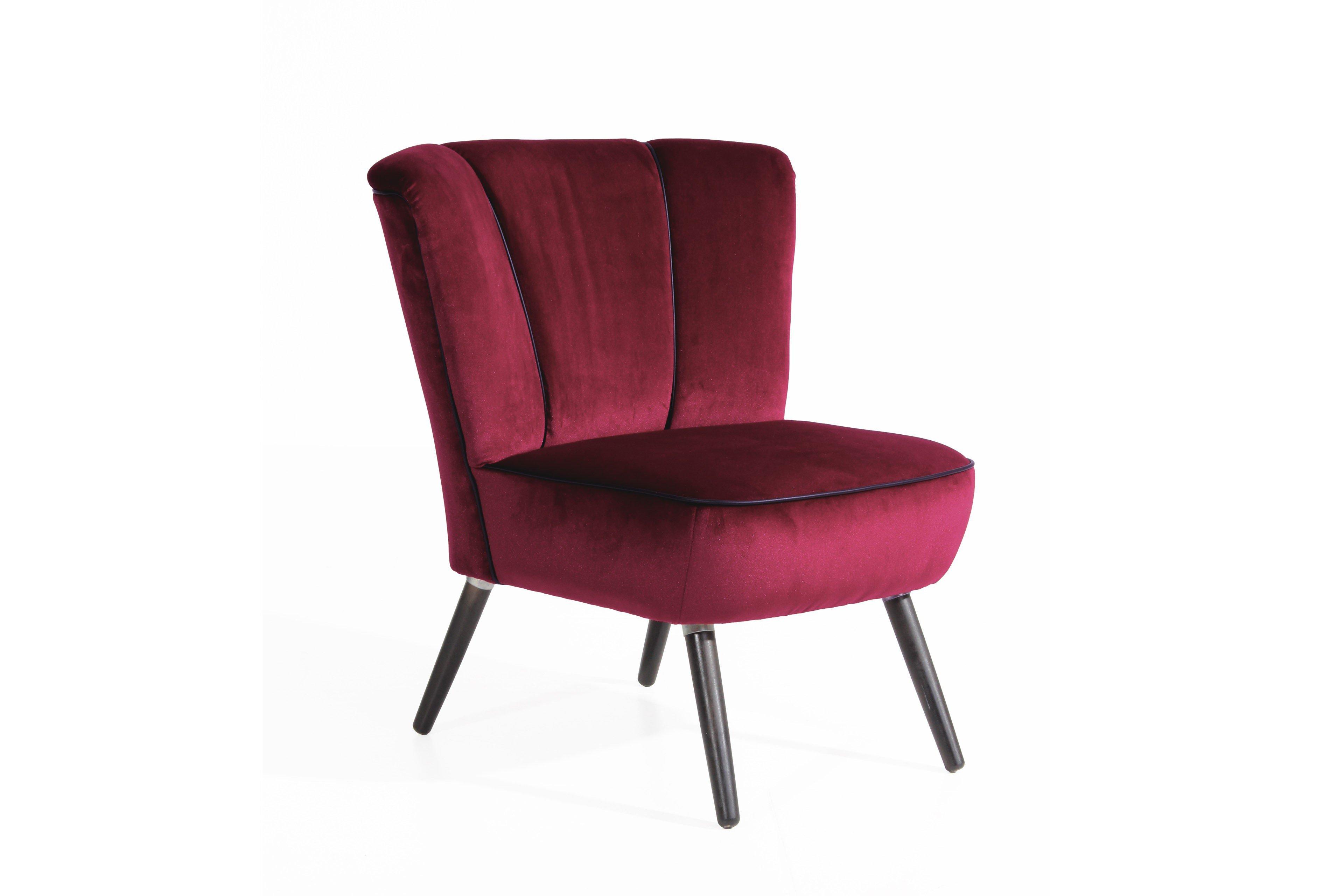 max winzer elias sessel in dunkelrot m bel letz ihr online shop. Black Bedroom Furniture Sets. Home Design Ideas