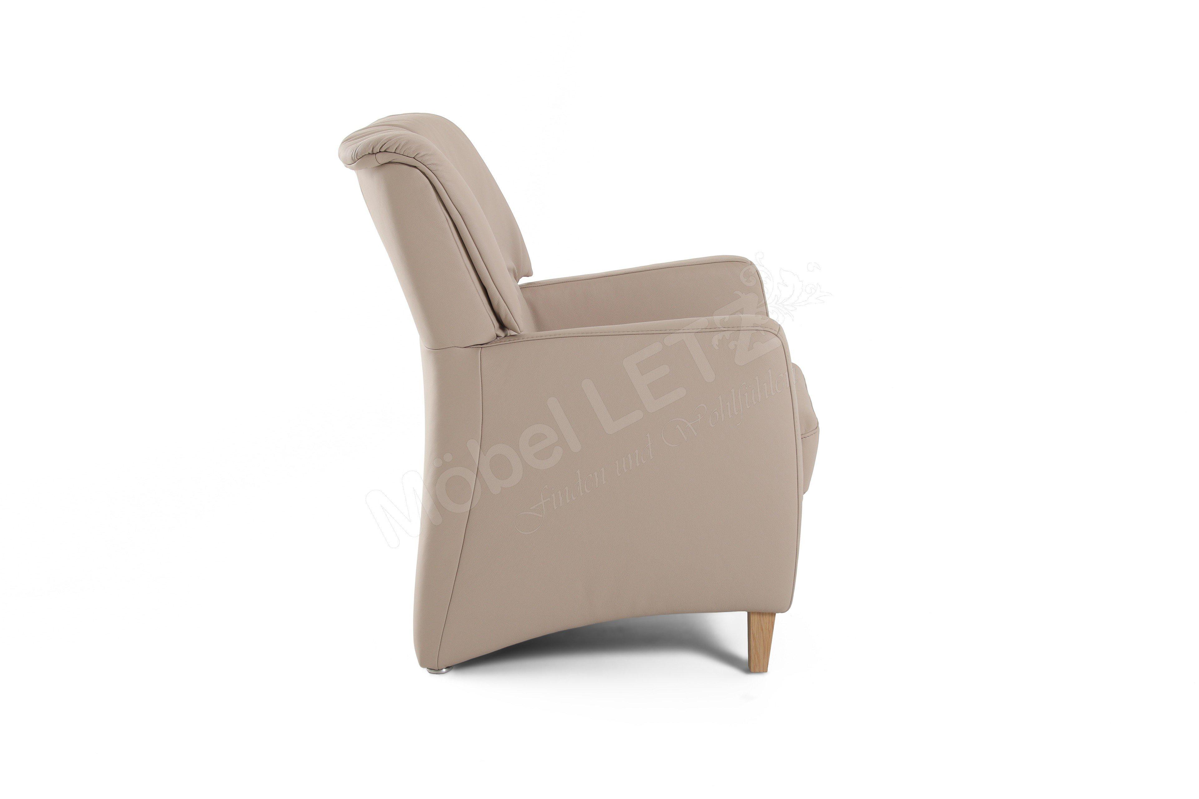 pm oelsa viola einzelsessel in beige m bel letz ihr. Black Bedroom Furniture Sets. Home Design Ideas