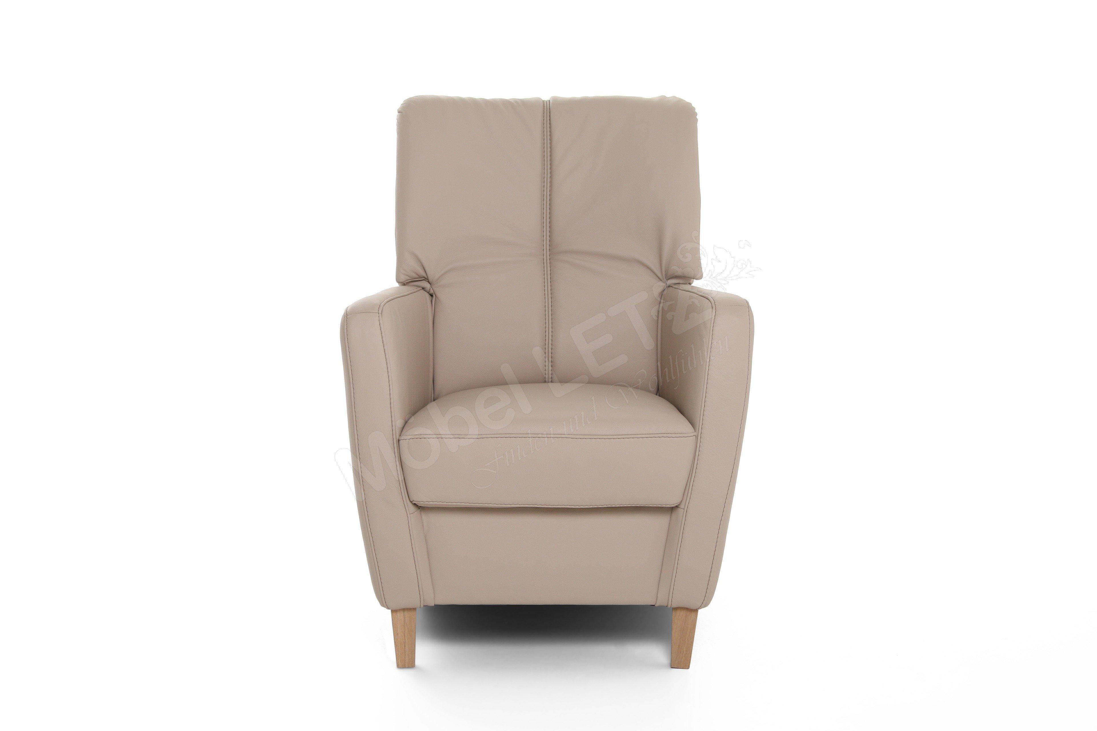 pm oelsa viola einzelsessel in beige m bel letz ihr online shop. Black Bedroom Furniture Sets. Home Design Ideas