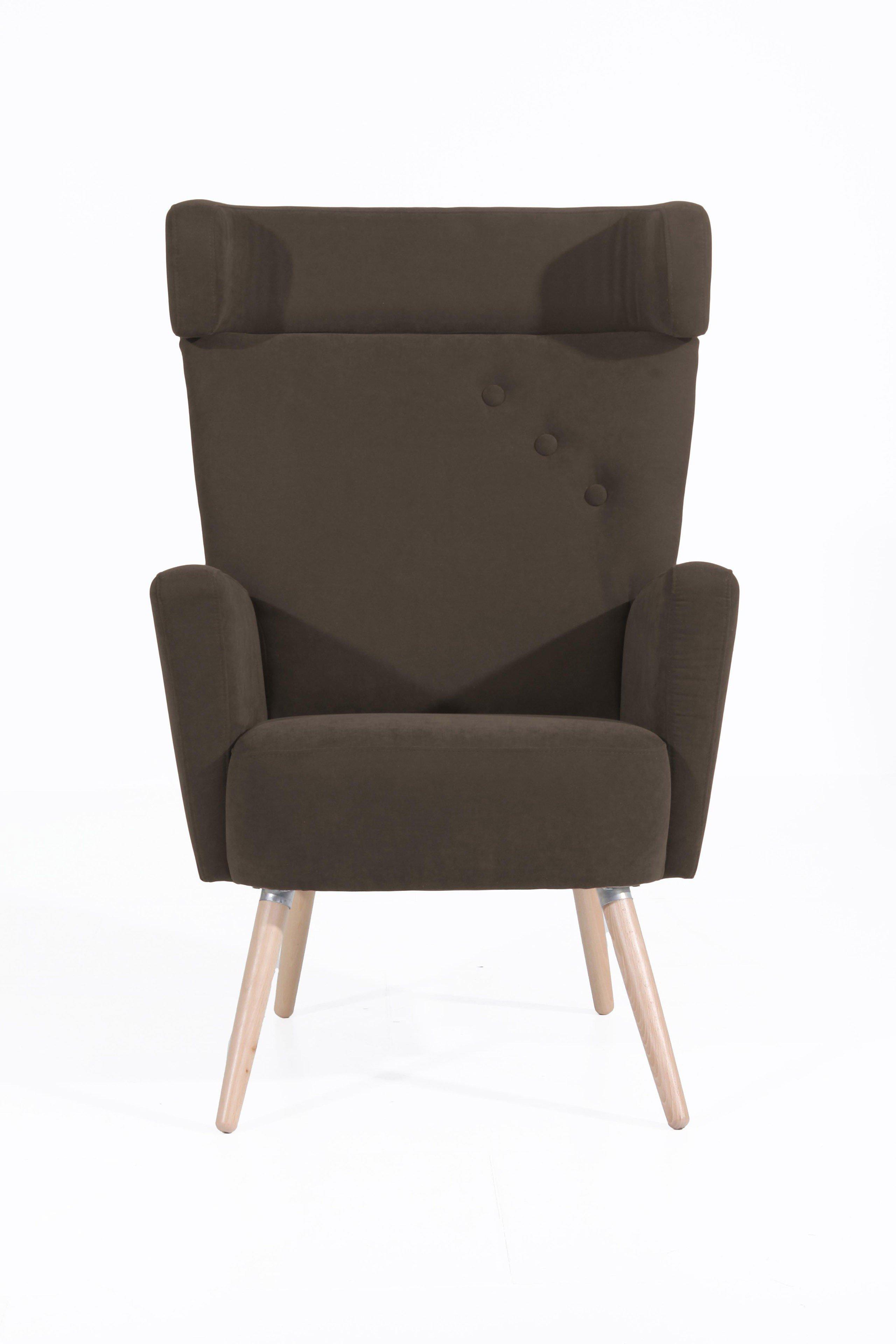 max winzer hajo ohrensessel in braun m bel letz ihr online shop. Black Bedroom Furniture Sets. Home Design Ideas