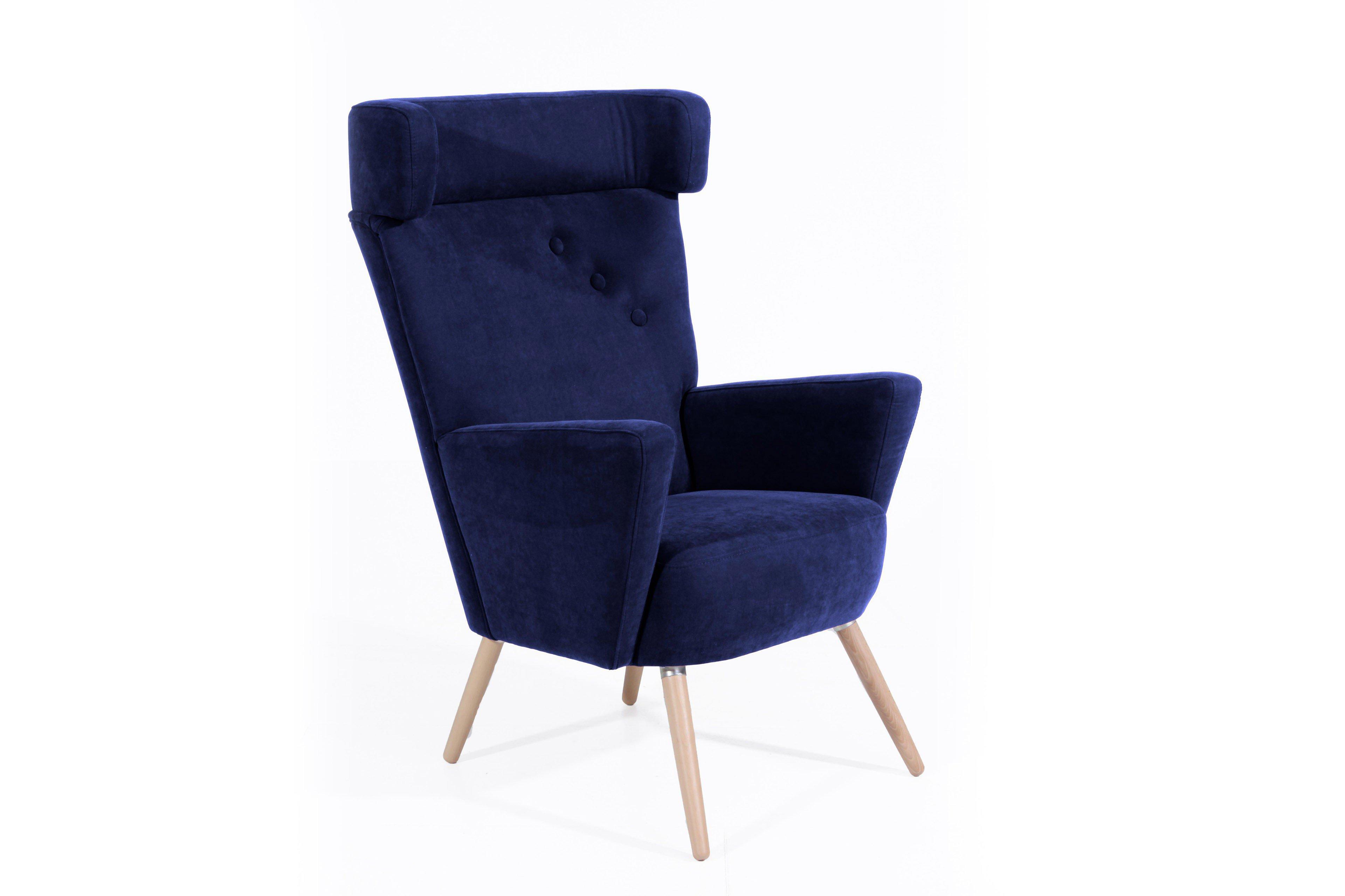Max Winzer Hajo Ohrensessel In Blau Möbel Letz Ihr Online Shop