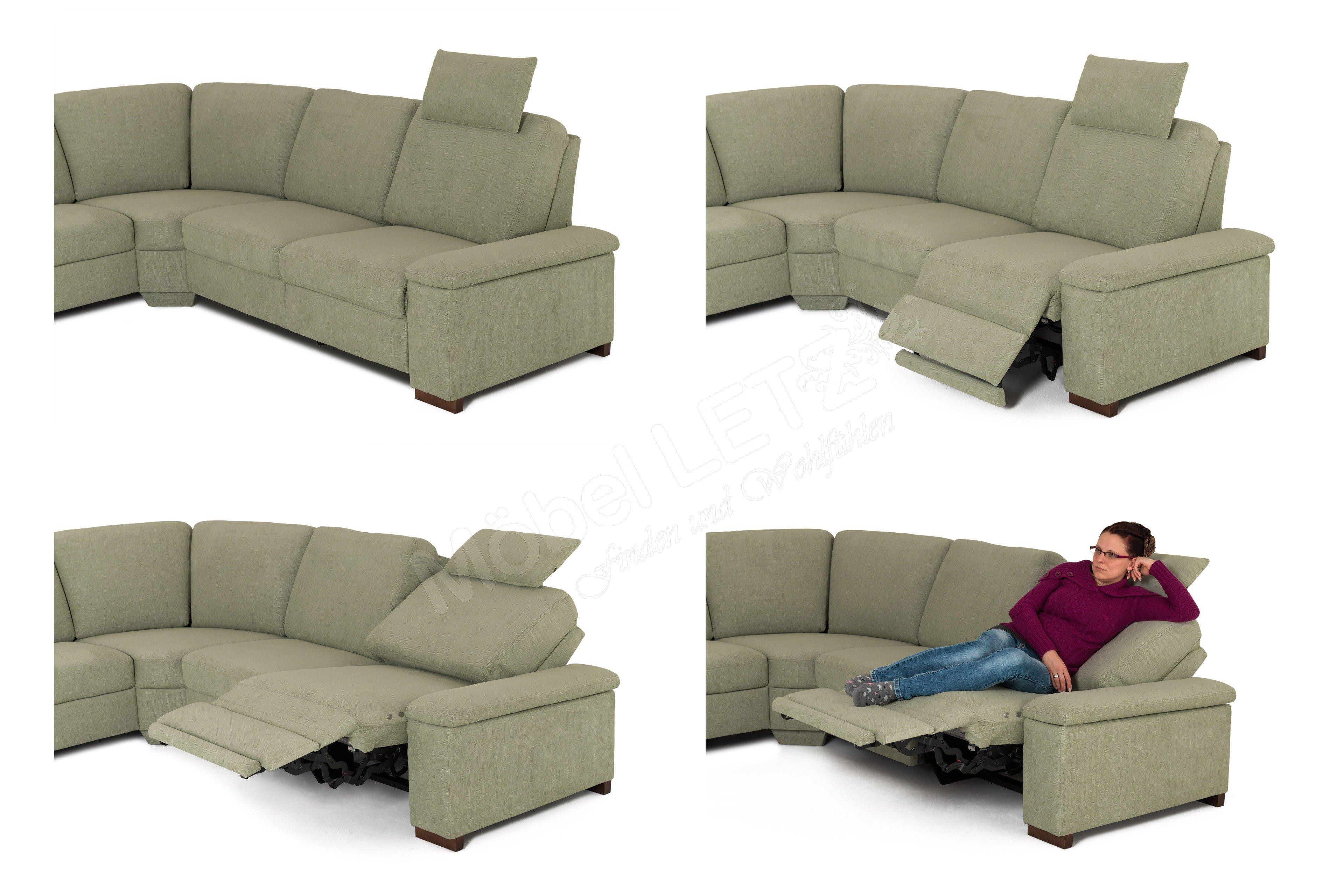 pm oelsa sofalandschaft baile in gr n m bel letz ihr online shop. Black Bedroom Furniture Sets. Home Design Ideas