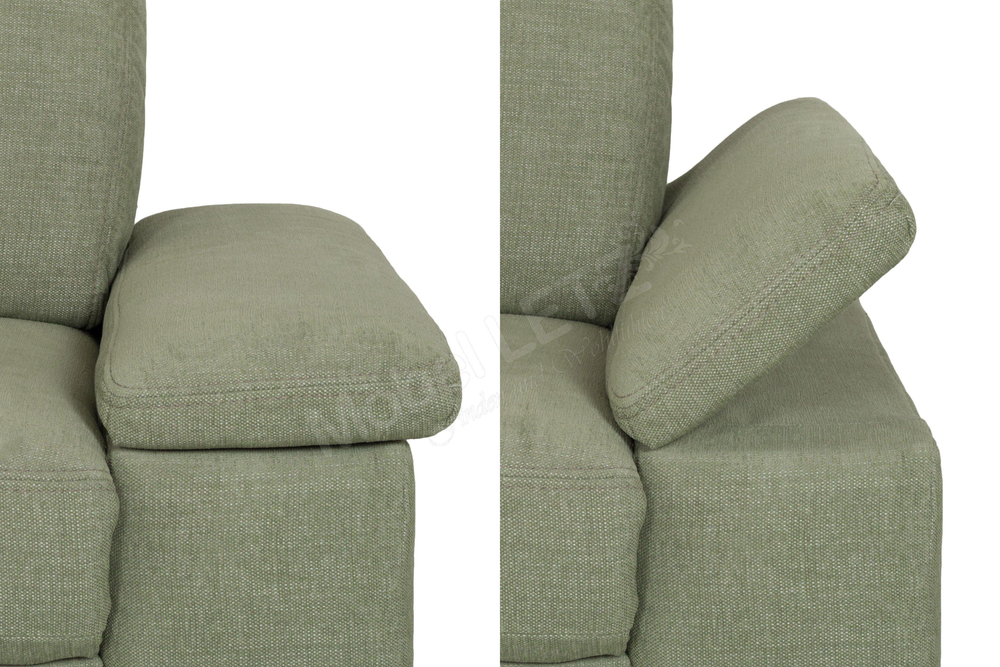 pm oelsa sofalandschaft baile in gr n m bel letz ihr. Black Bedroom Furniture Sets. Home Design Ideas