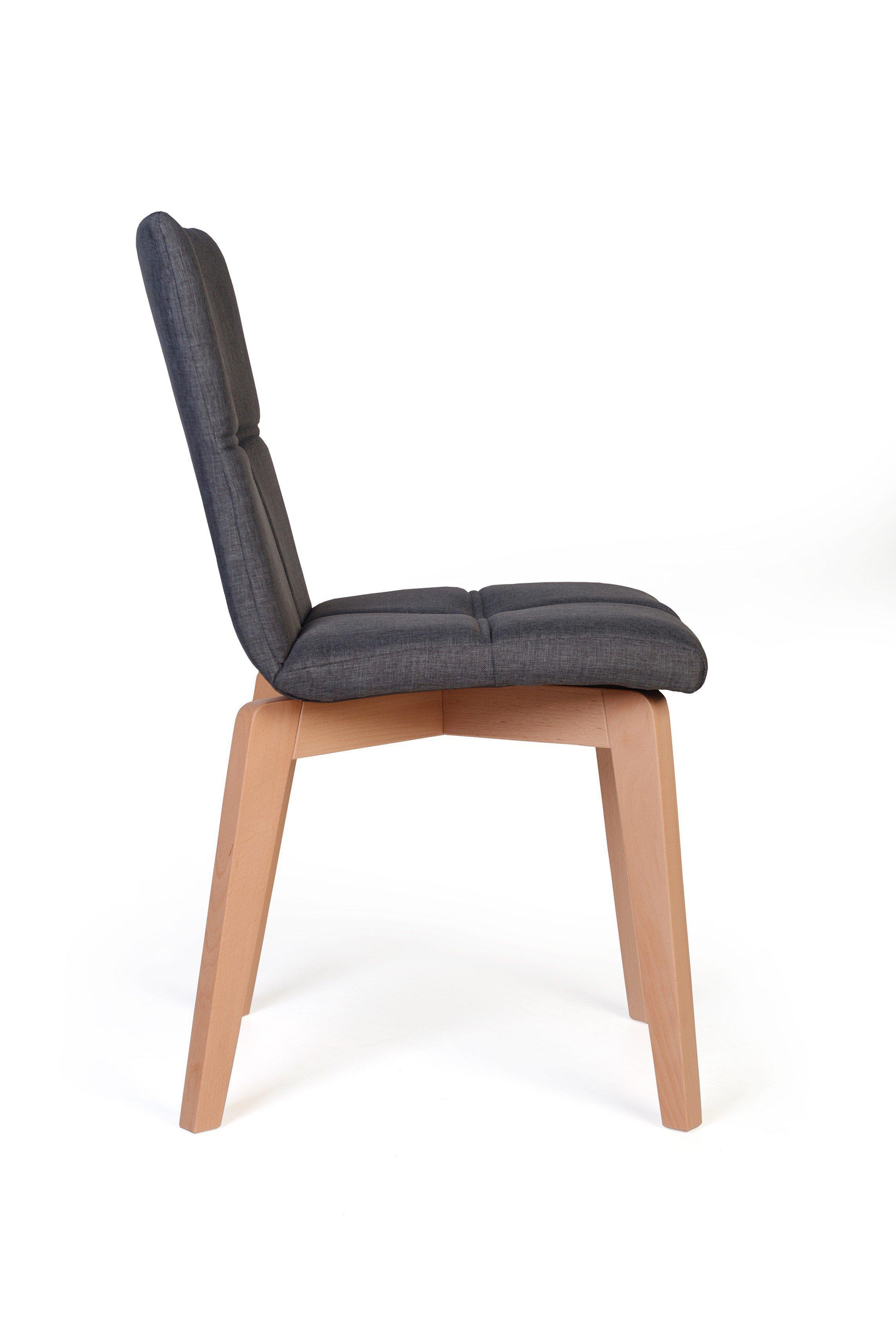 Standard Furniture Stuhl Manon In Grau Mobel Letz Ihr Online Shop