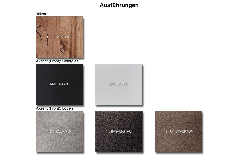 voglauer sideboard v alpin 224 eiche altholz loden braun. Black Bedroom Furniture Sets. Home Design Ideas