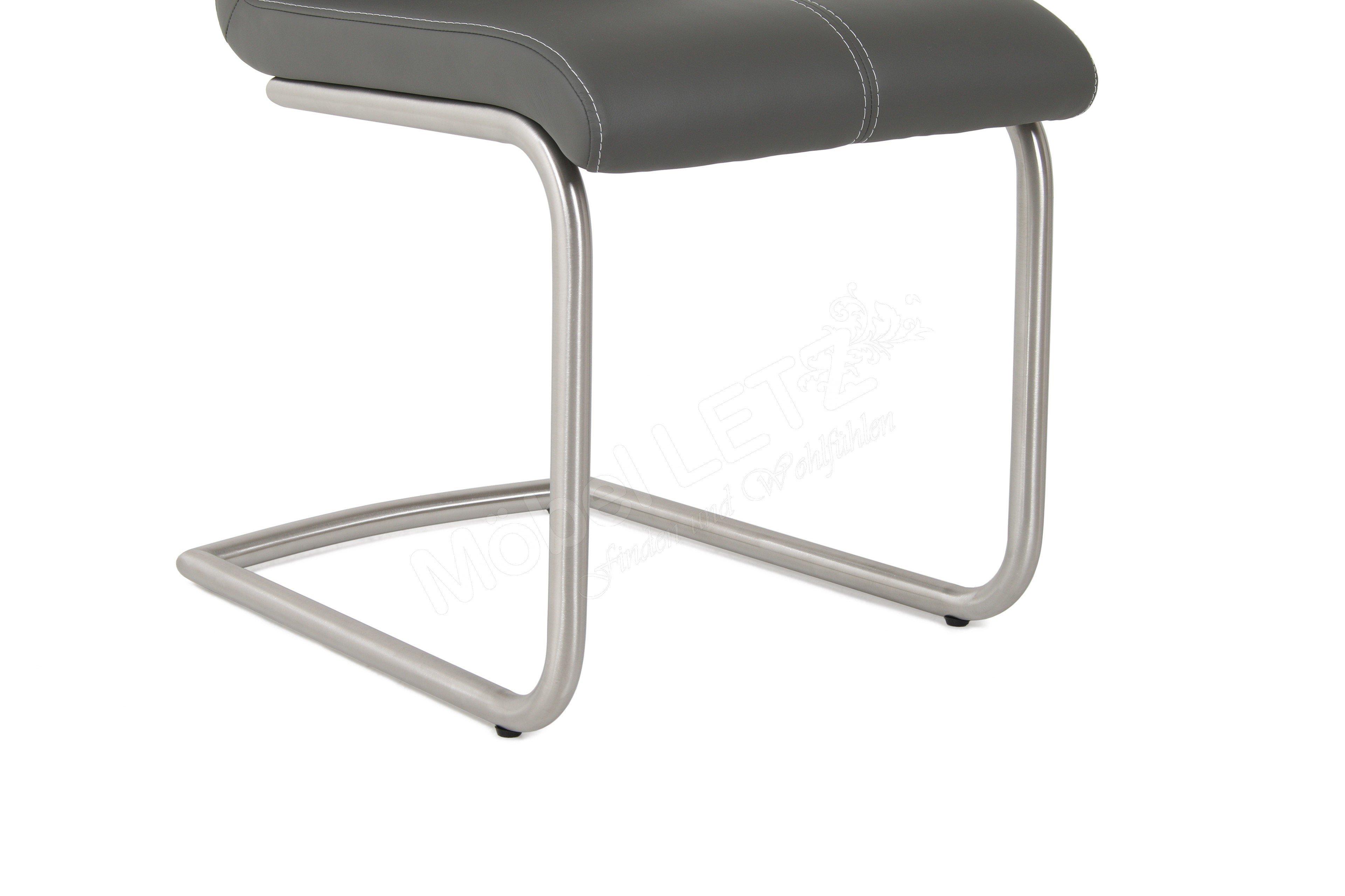 Mwa aktuell stuhl milano maximo ausf hrung h m bel letz for Stuhl edelstahl