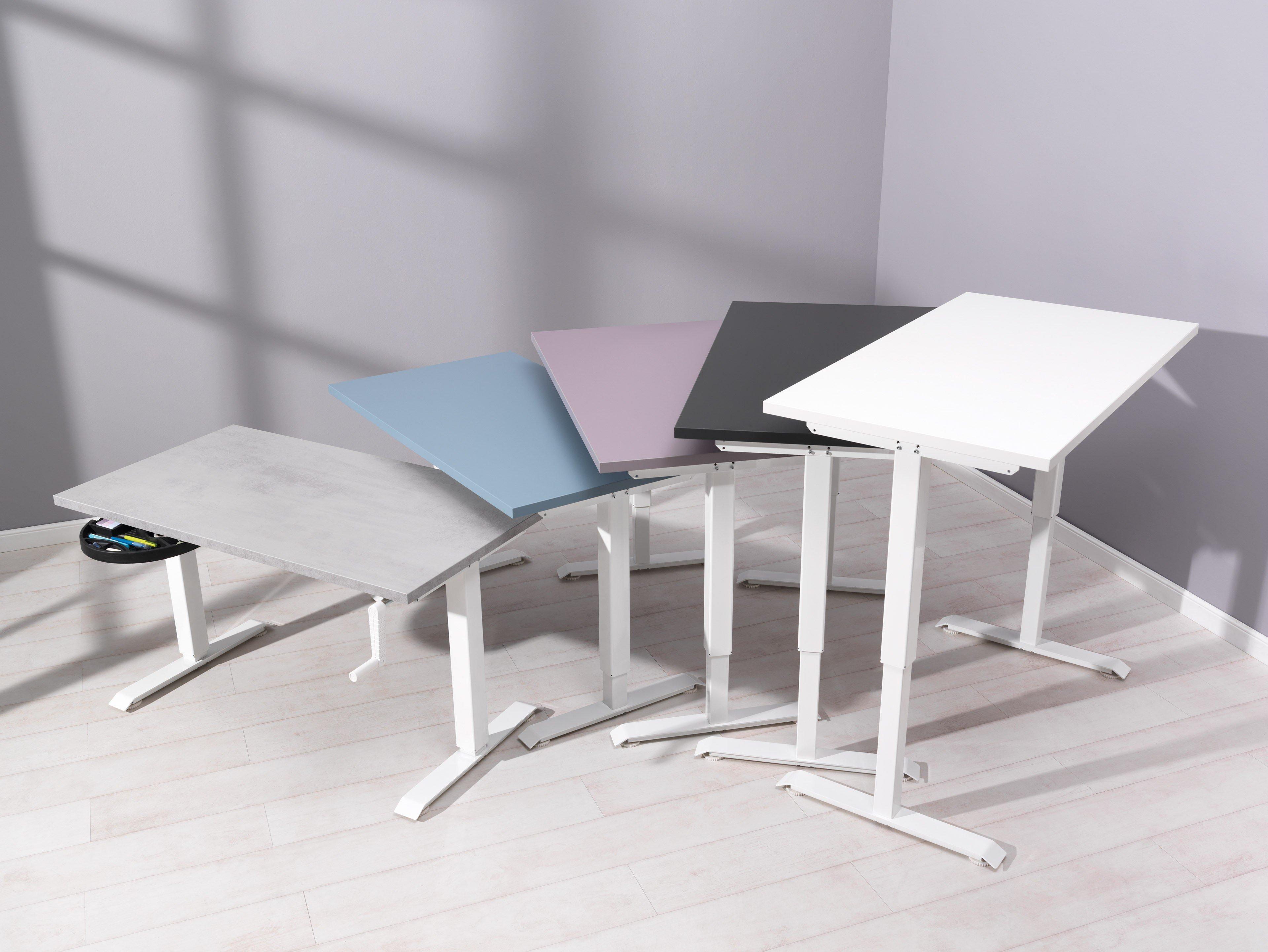 Wellemöbel GROW UP Schreibtisch lilac grey | Möbel Letz - Ihr Online ...
