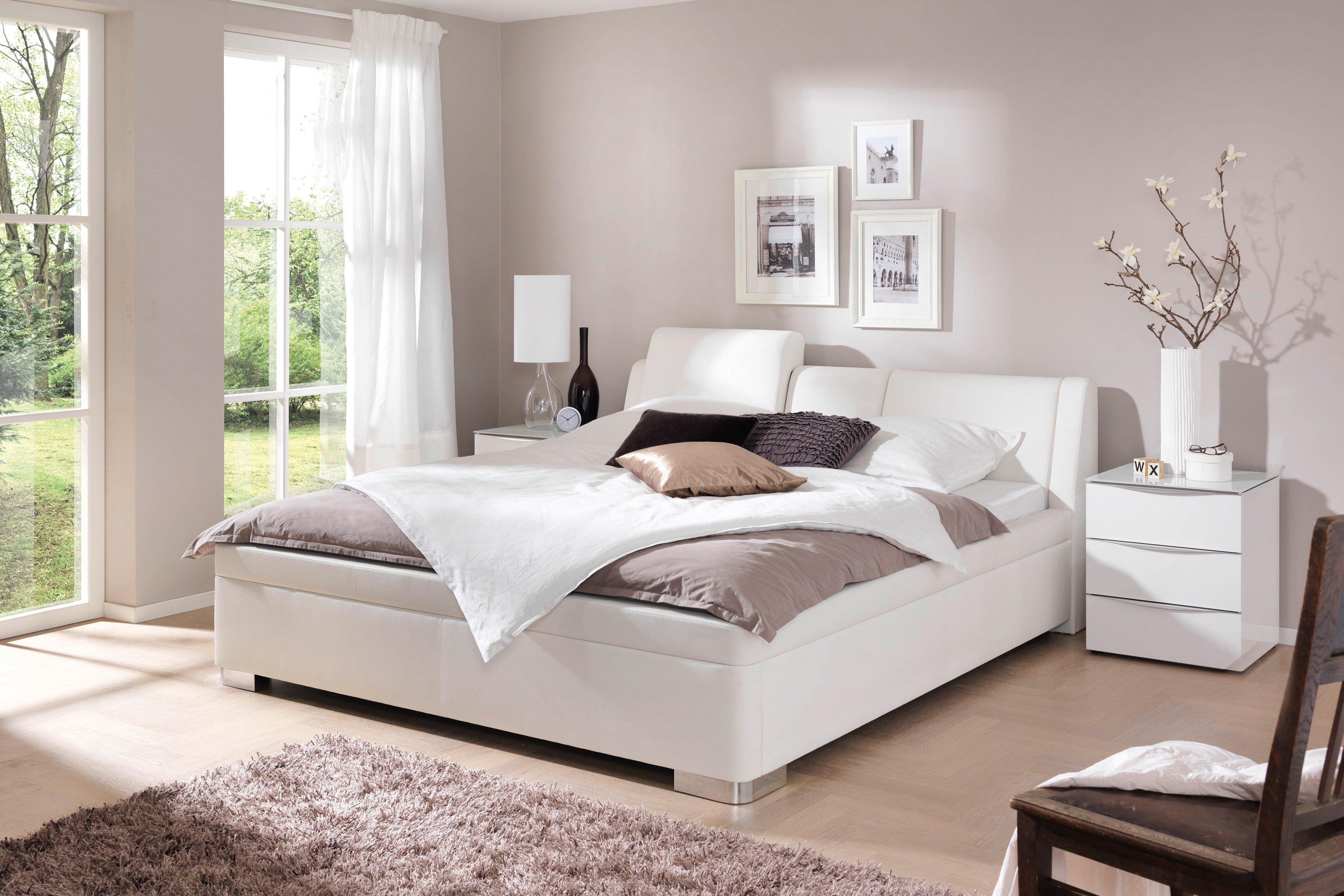 mood polsterbett 02 wei von wellem bel m bel letz ihr online shop. Black Bedroom Furniture Sets. Home Design Ideas