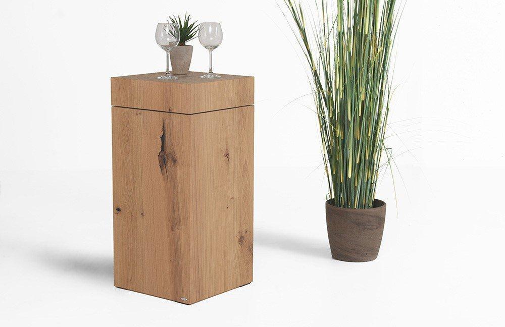 voglauer couchtisch v solid kubus mit drehbarer platte. Black Bedroom Furniture Sets. Home Design Ideas