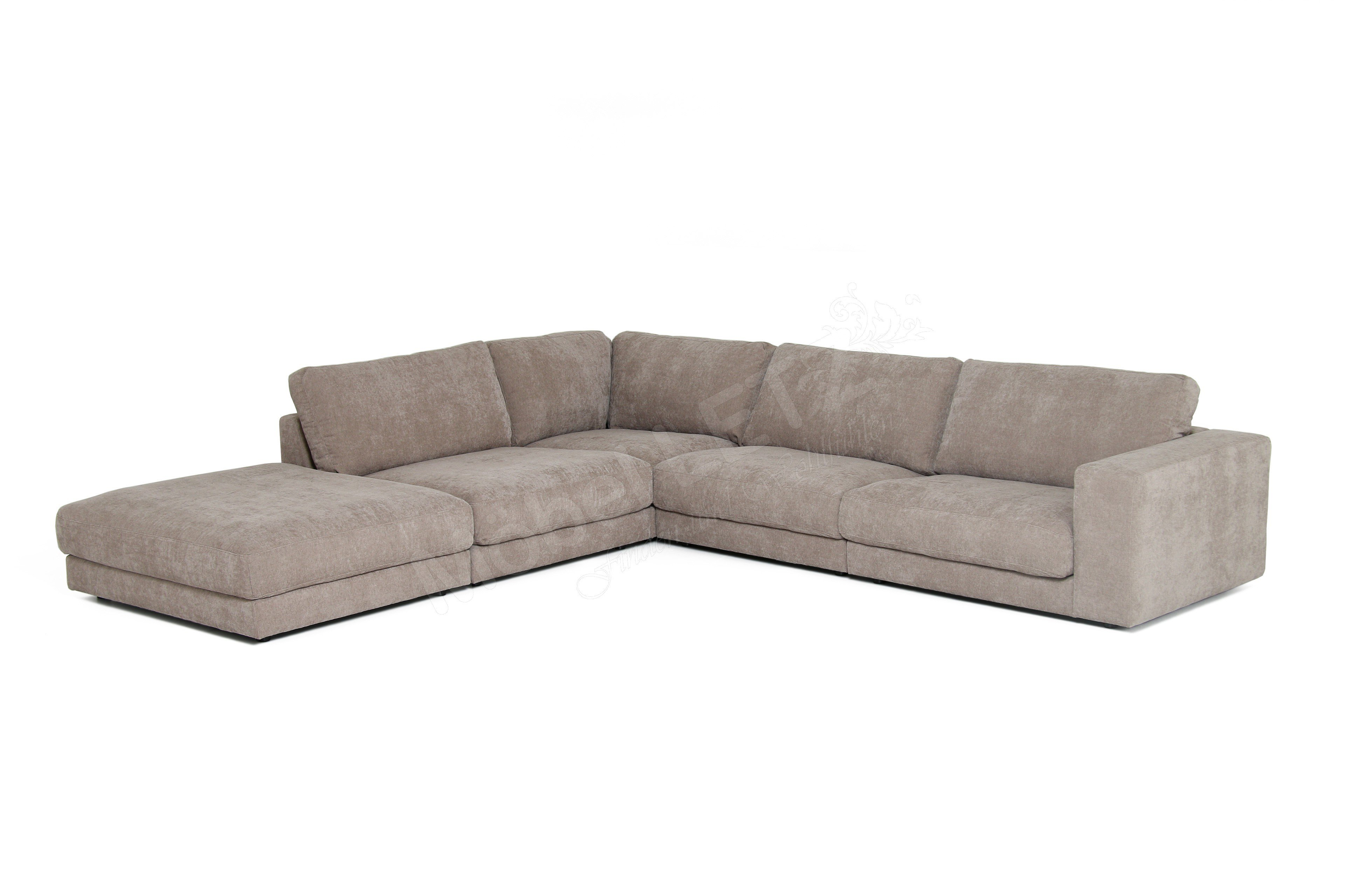 Eckcouch taupe  Candy Giant Sofa in Hellbraun | Möbel Letz - Ihr Online-Shop