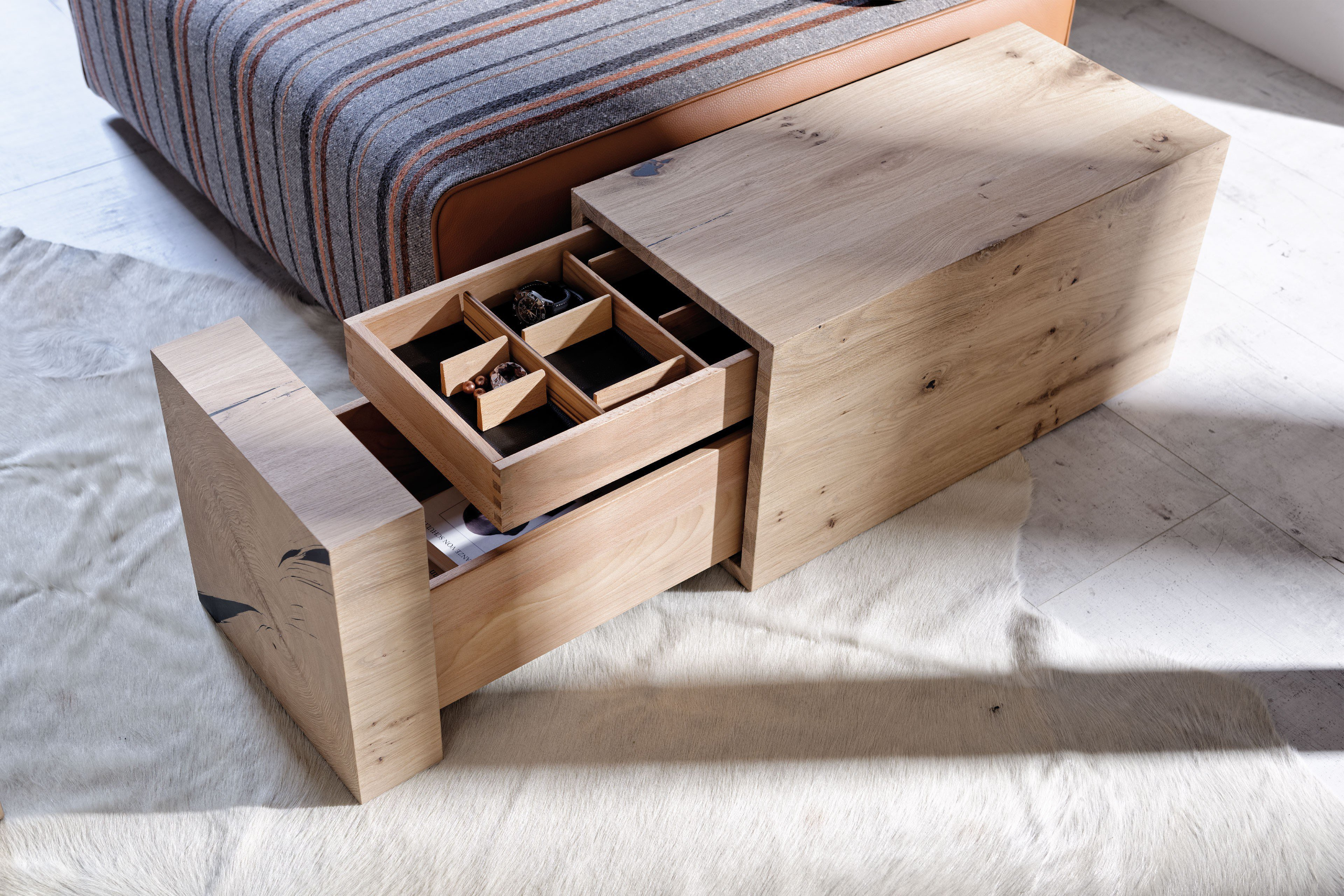 voglauer beistelltisch v solid kubus wildeiche m bel letz ihr online shop. Black Bedroom Furniture Sets. Home Design Ideas