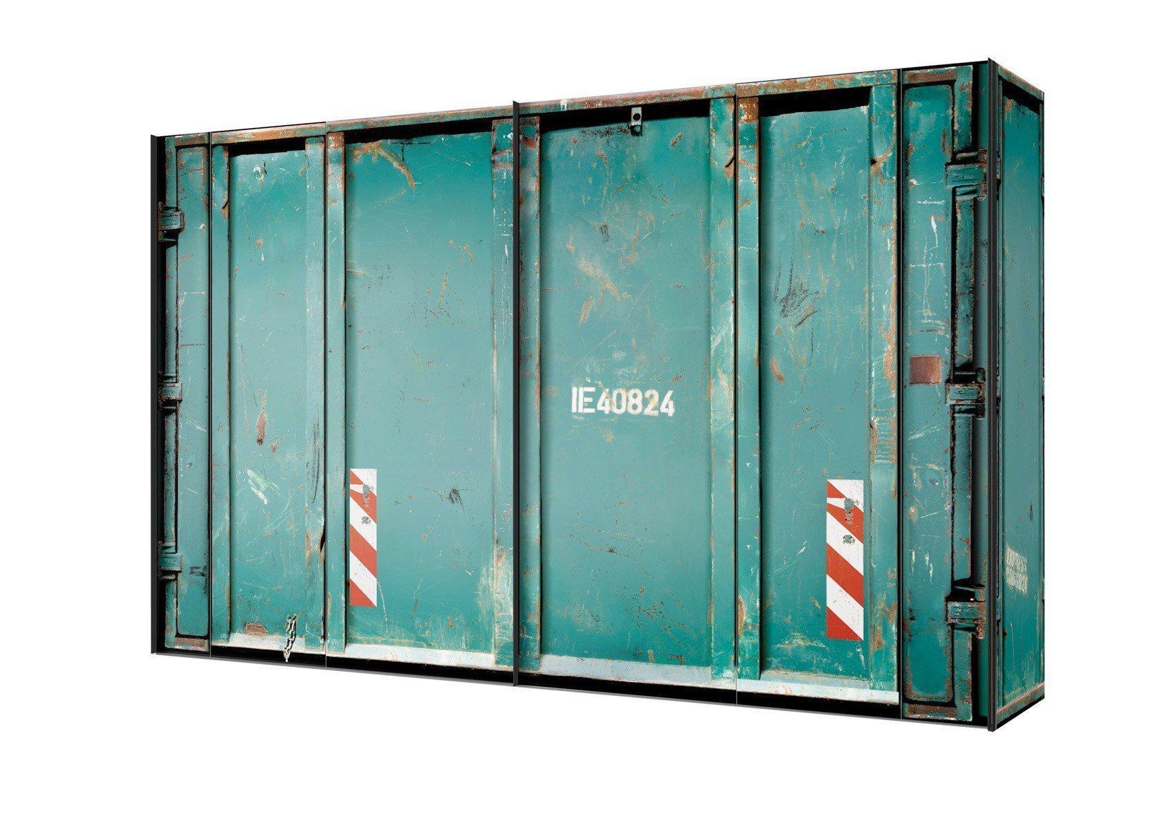 Express Möbel Kleiderschrank Cargo grün | Möbel Letz - Ihr Online-Shop