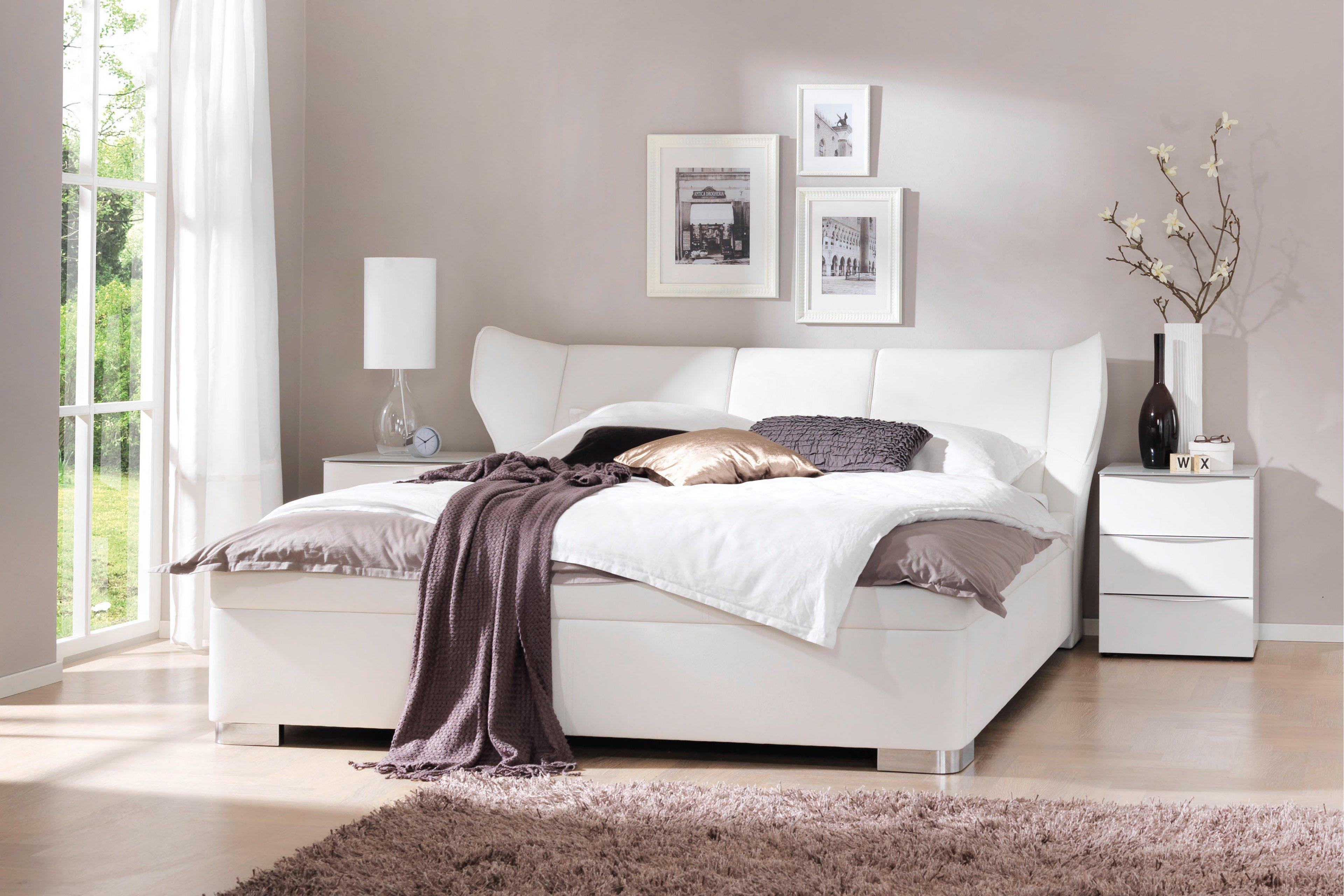 wellem bel mood polsterbett wei klapptisch m bel letz ihr online shop. Black Bedroom Furniture Sets. Home Design Ideas