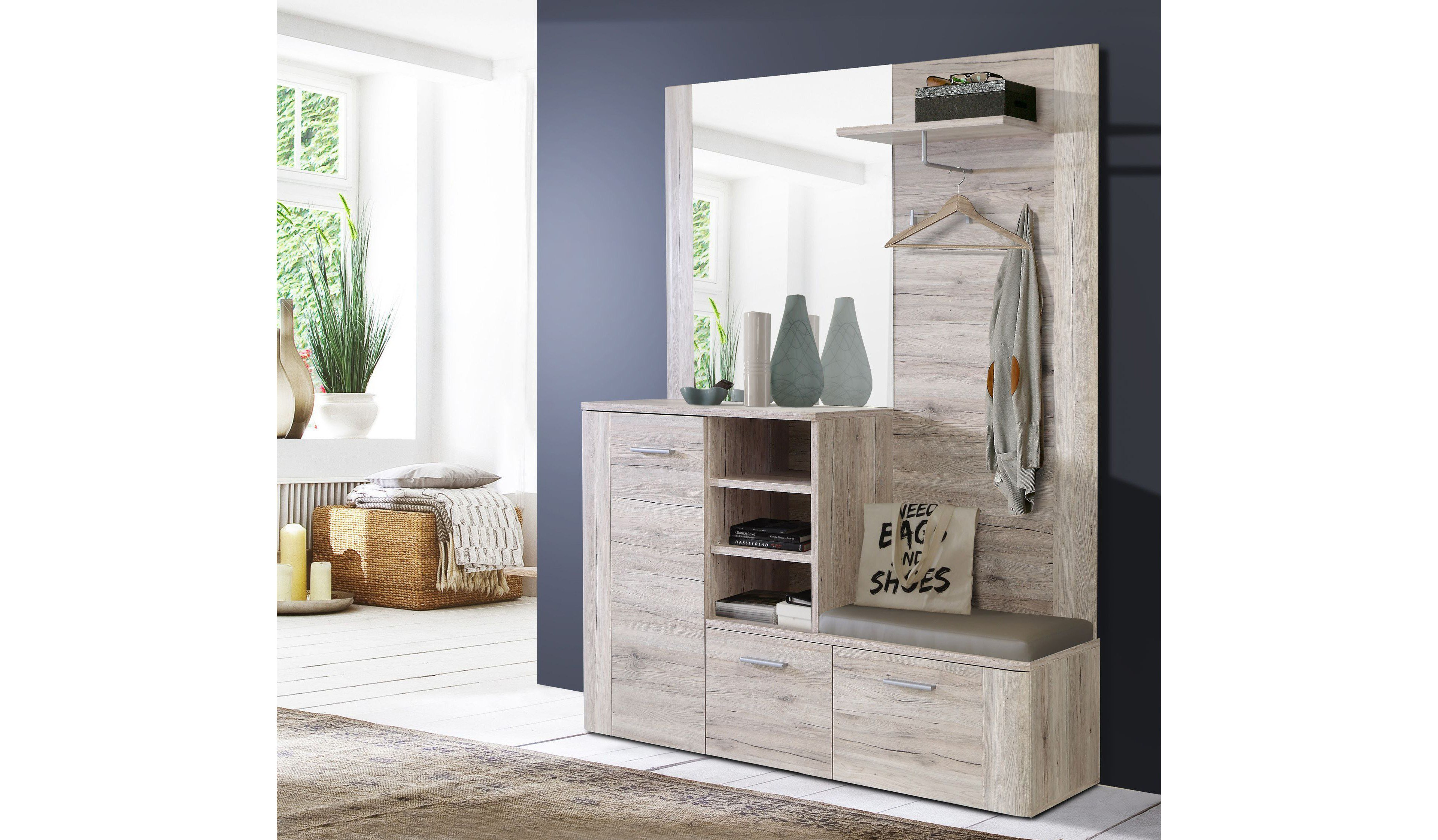 forte garderobe big bang sandeiche m bel letz ihr online shop. Black Bedroom Furniture Sets. Home Design Ideas