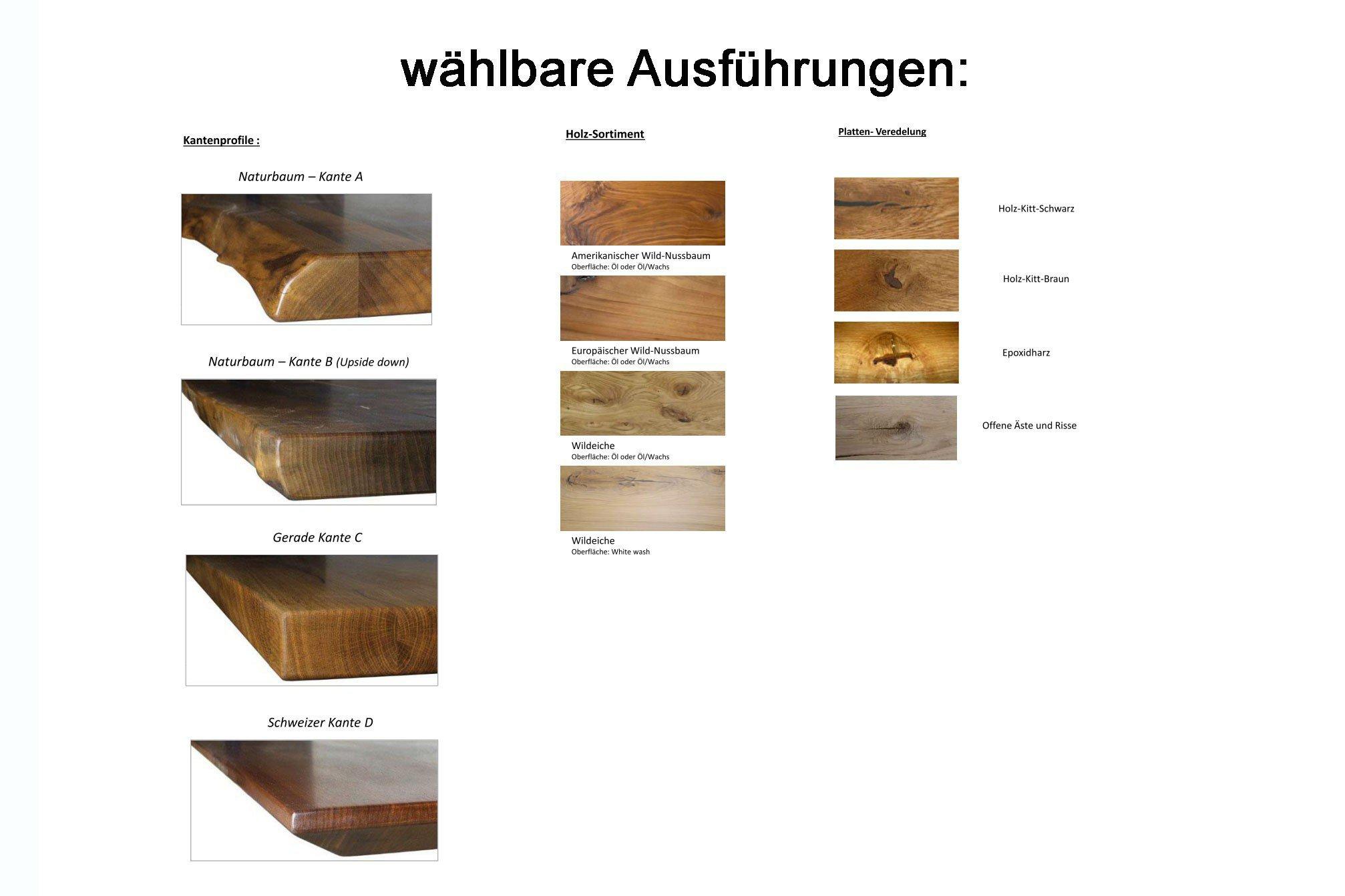 Pure Natur Esstisch Borge Wildeiche Natur Mobel Letz Ihr Online Shop