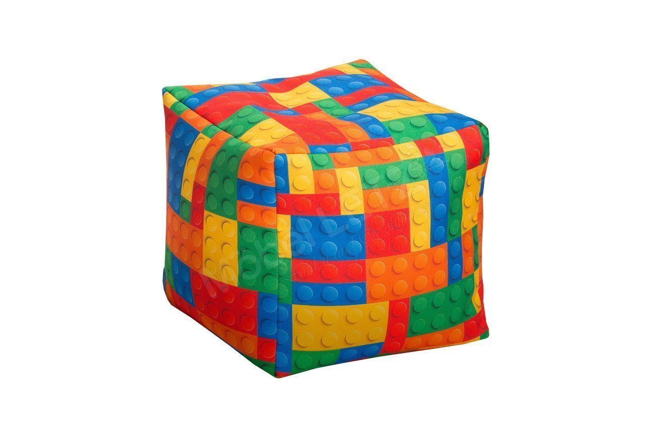 magma heimtex sitzsack beanbag bricks xl bunt m bel letz ihr online shop. Black Bedroom Furniture Sets. Home Design Ideas