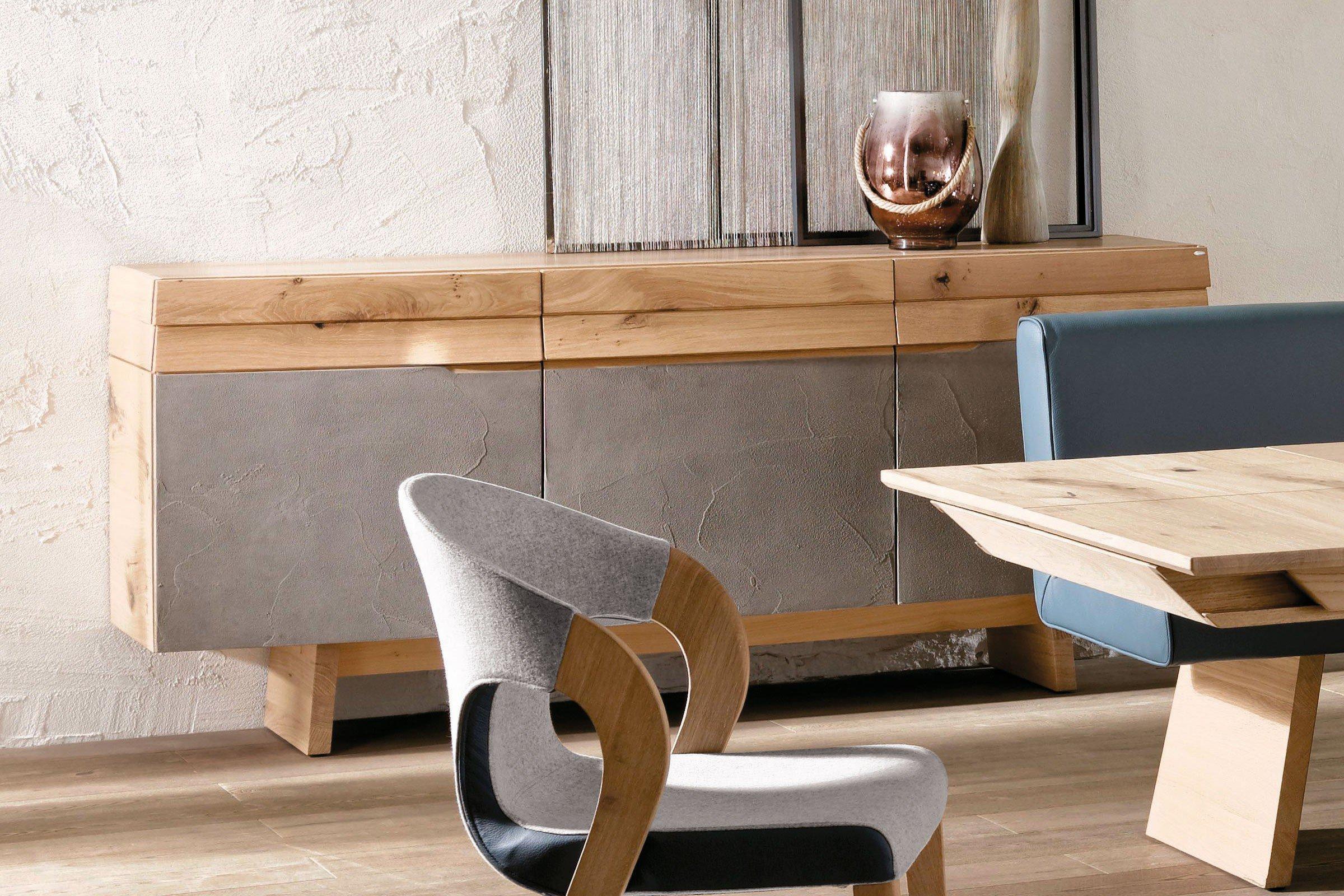 voglauer esszimmer opus wildeiche loden grauwei m bel letz ihr online shop. Black Bedroom Furniture Sets. Home Design Ideas