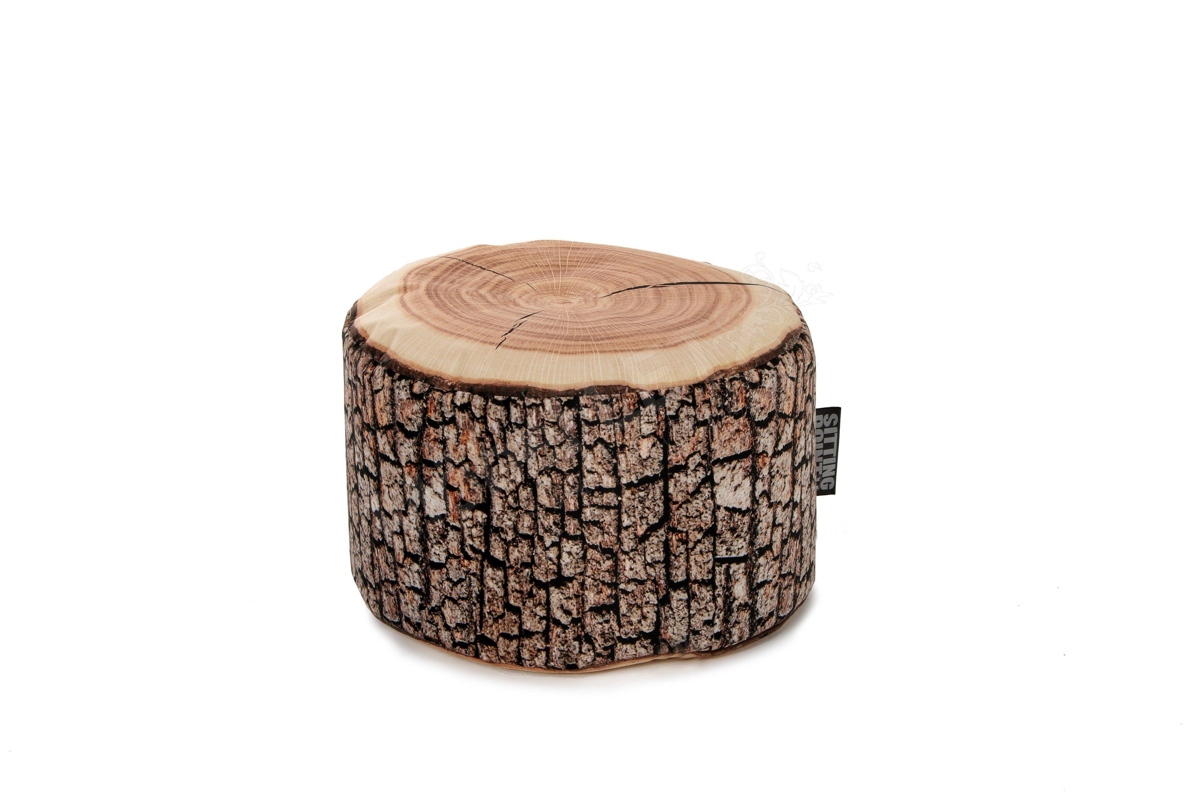 sitzsack dotcom wood von magma heimtex im baumstamm design m bel letz ihr online shop. Black Bedroom Furniture Sets. Home Design Ideas