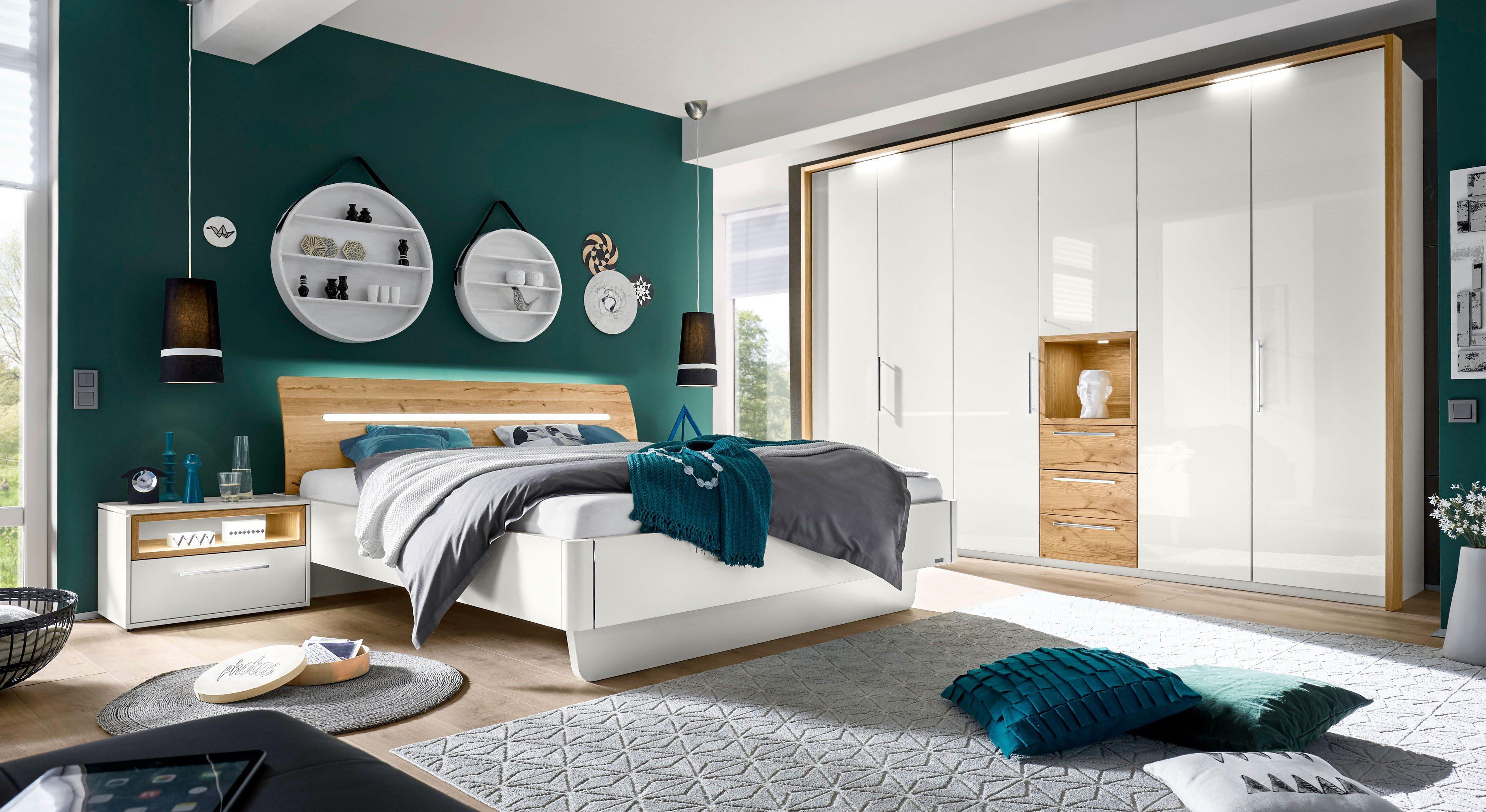 Loddenkemper schlafzimmer meo hochglanz eiche m bel letz ihr online shop - Schlafzimmer hochglanz ...