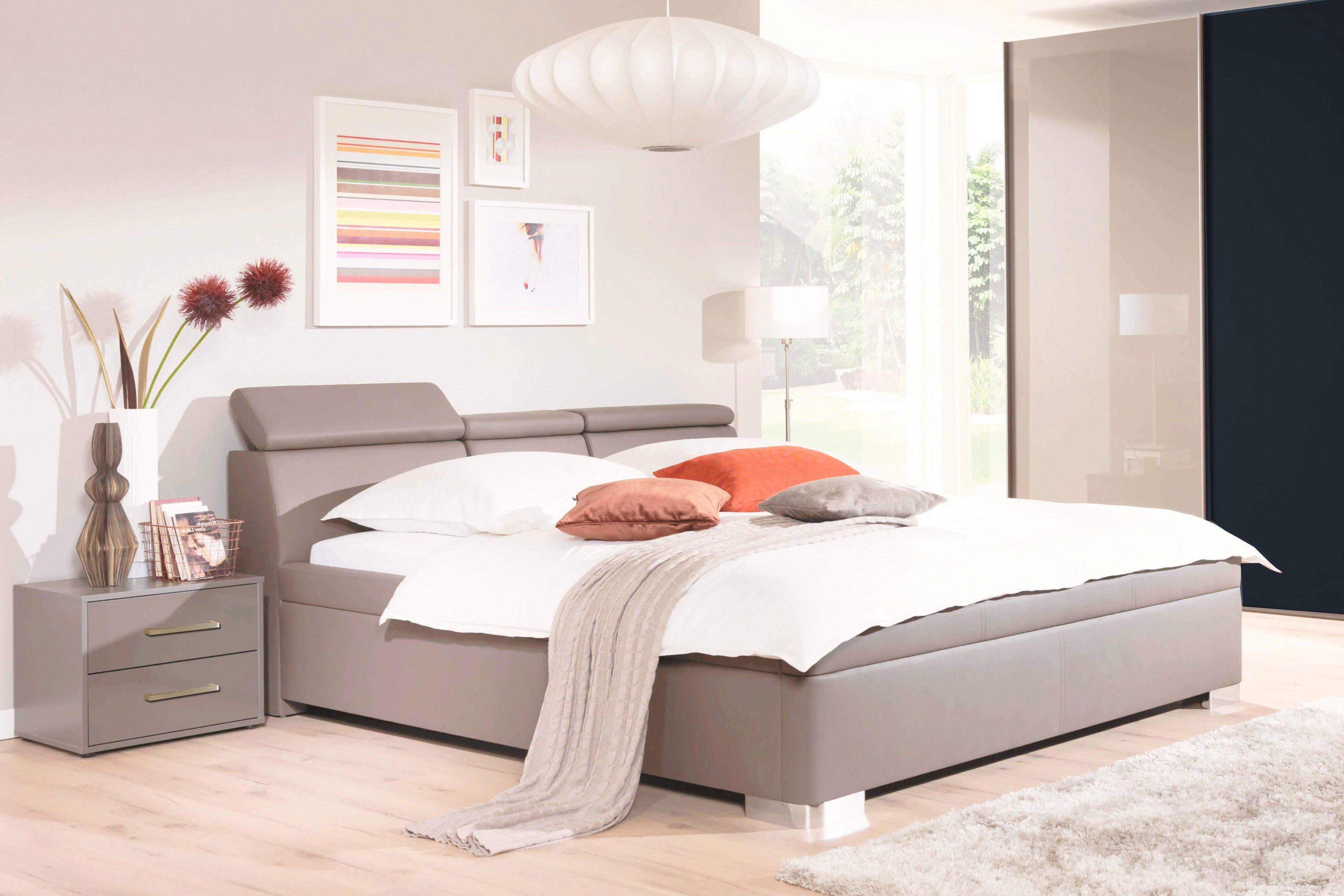wellem bel mood polsterbett 04 sandgrau m bel letz ihr online shop. Black Bedroom Furniture Sets. Home Design Ideas