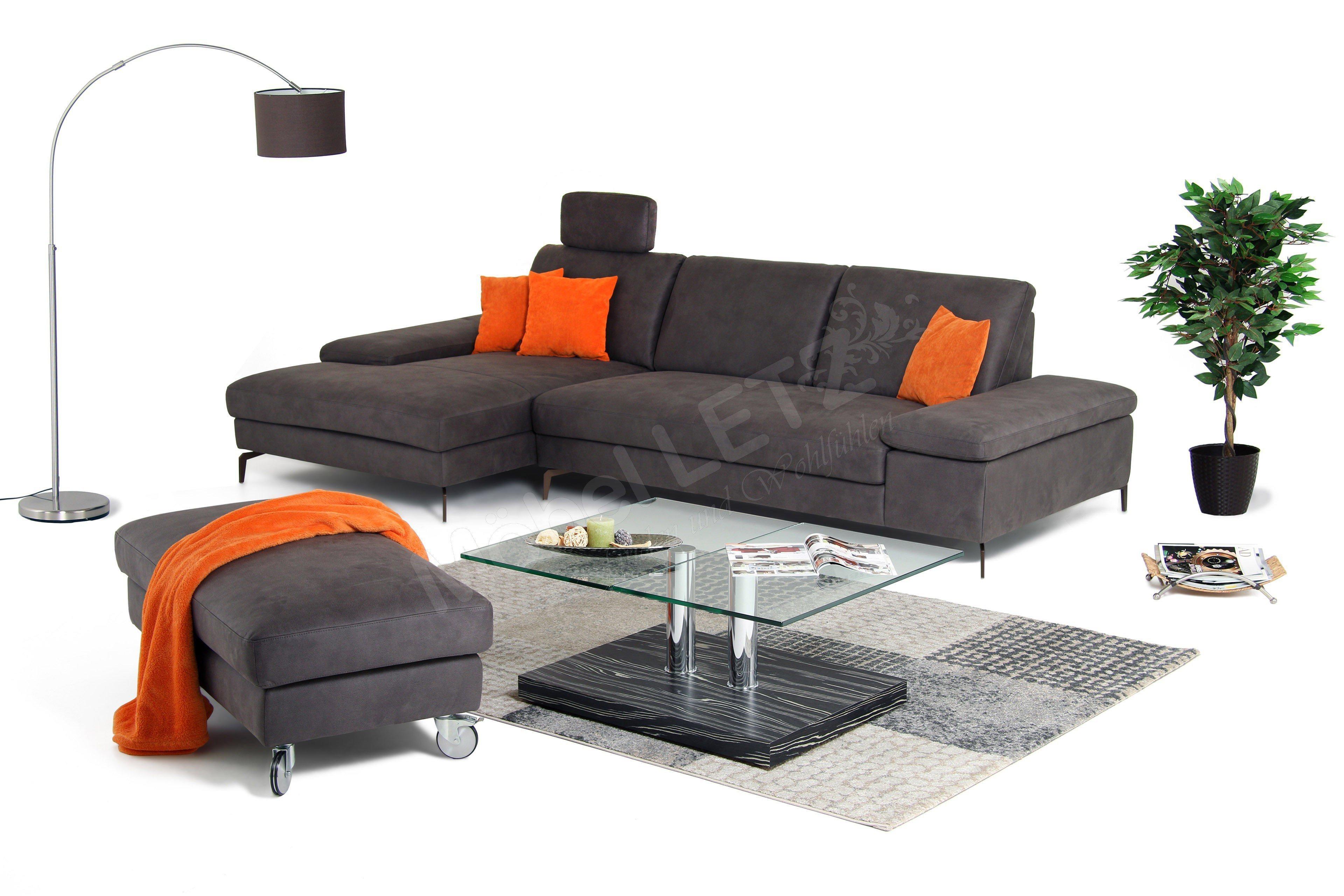 willi schillig 15867 ecksofa in braun m bel letz ihr online shop. Black Bedroom Furniture Sets. Home Design Ideas