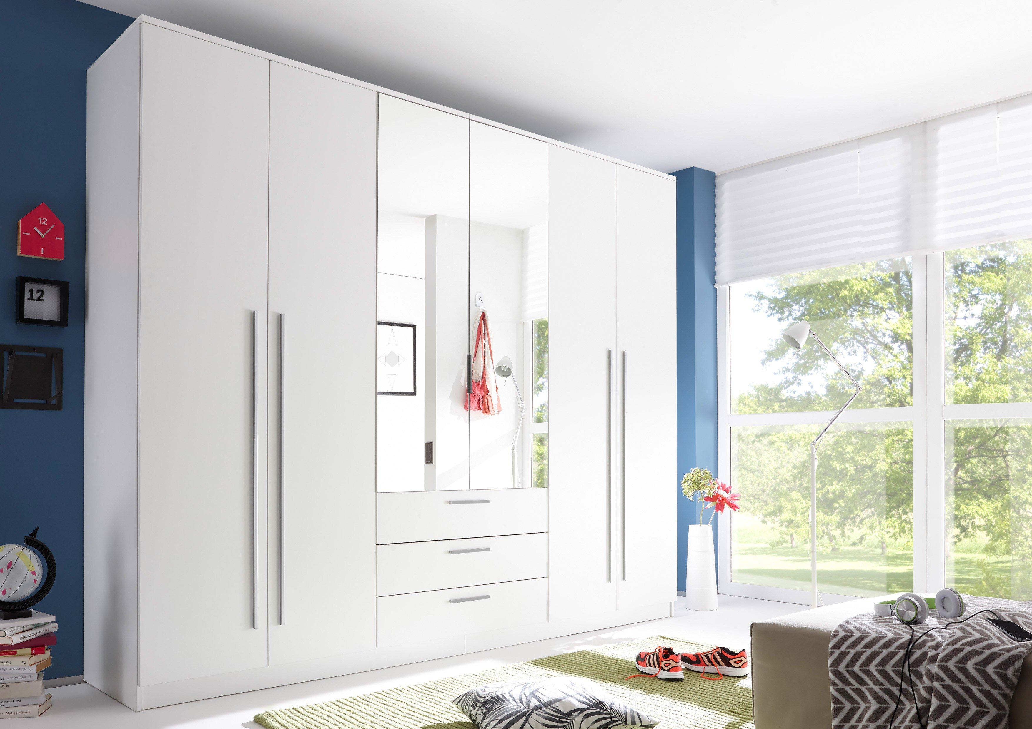 kleiderschrank neptun von pol power wei m bel letz ihr online shop. Black Bedroom Furniture Sets. Home Design Ideas