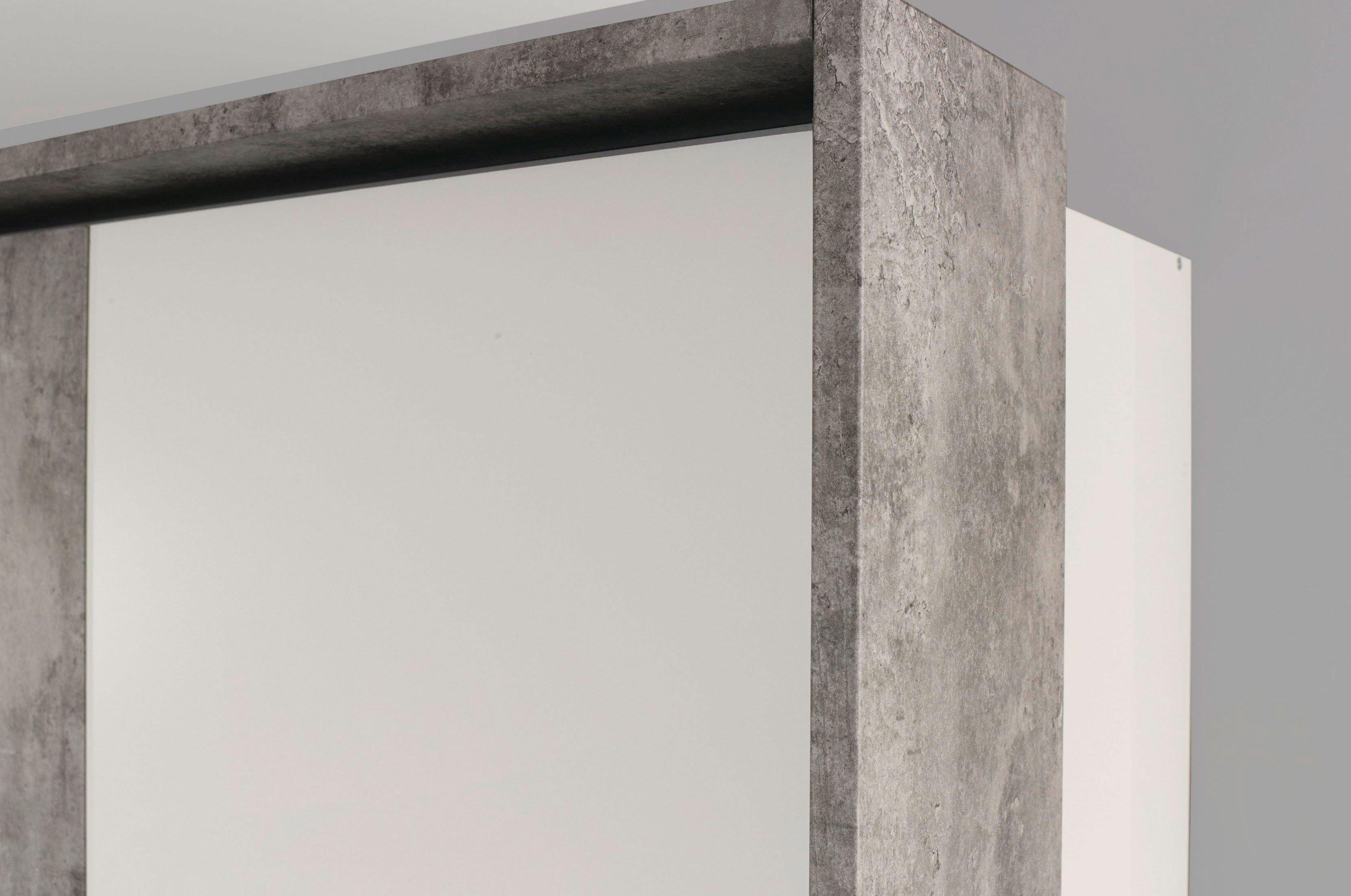 Rauch Siegen Schlafzimmer weiß stone grey | Möbel Letz - Ihr ...