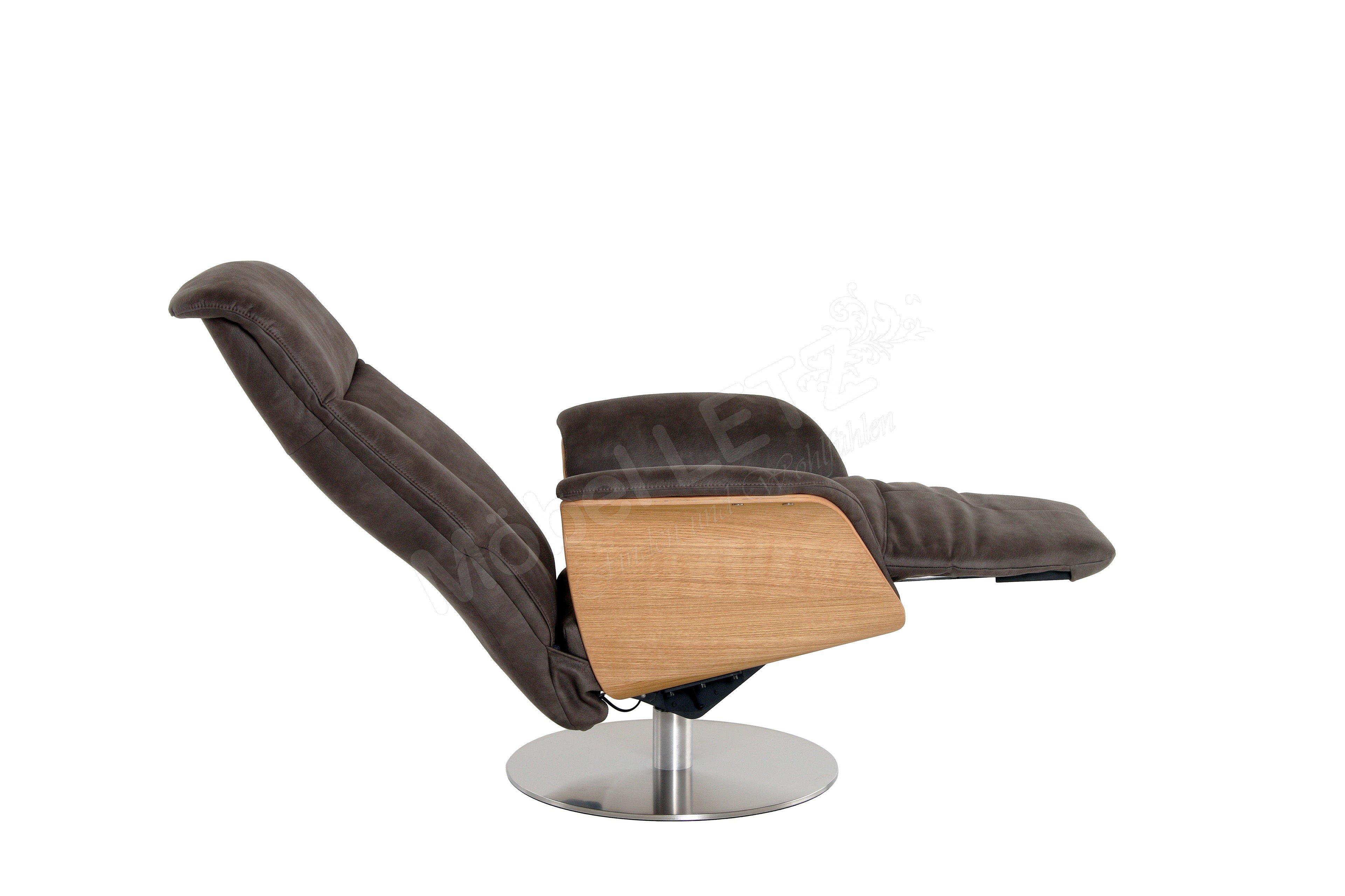 skandinavische m bel jarkko funktionssessel in dunkelbraun m bel letz ihr online shop. Black Bedroom Furniture Sets. Home Design Ideas